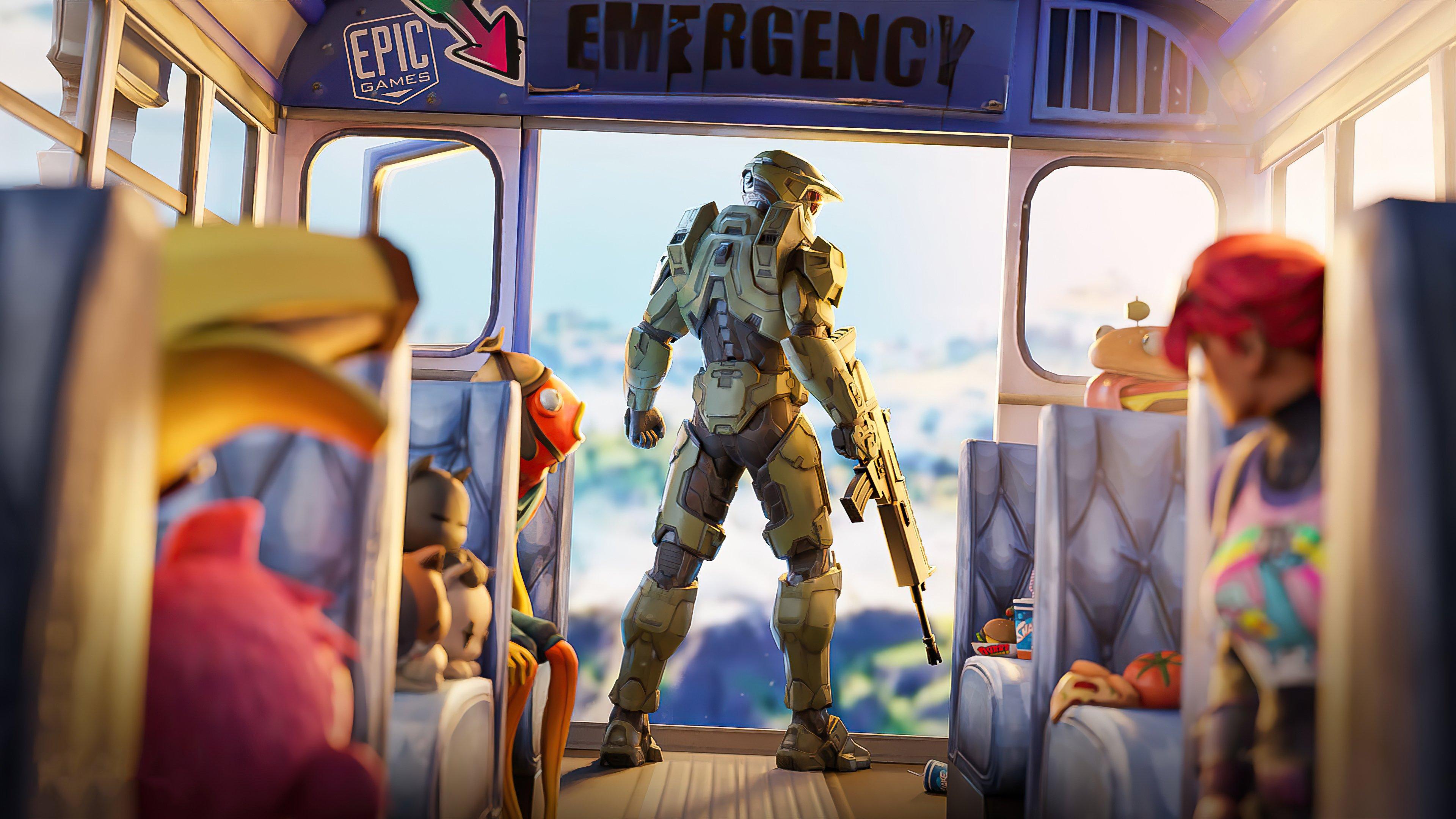 Fondos de pantalla Halo Chief Fortnite