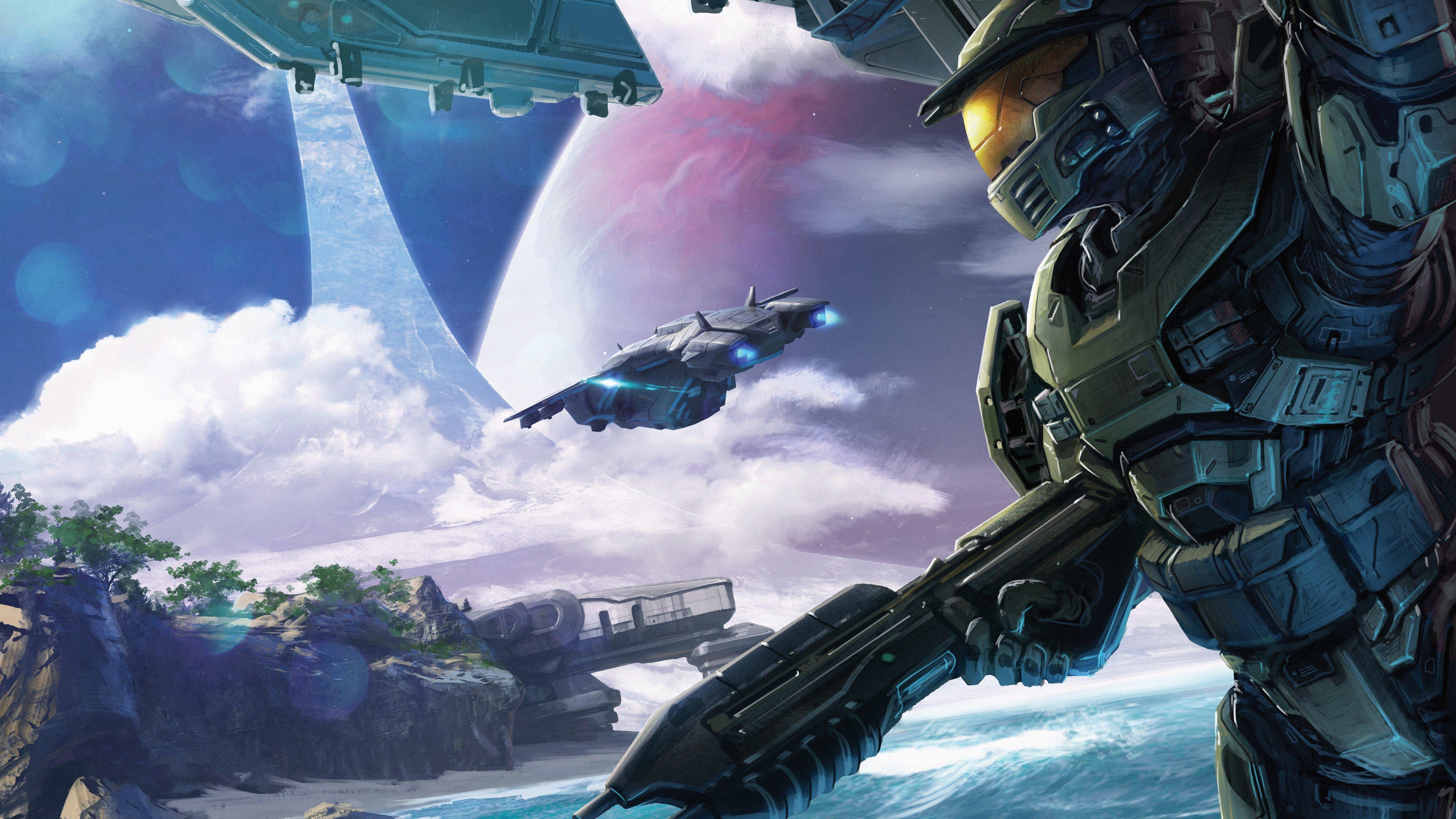 Fondos de pantalla Halo Conflict Artwork