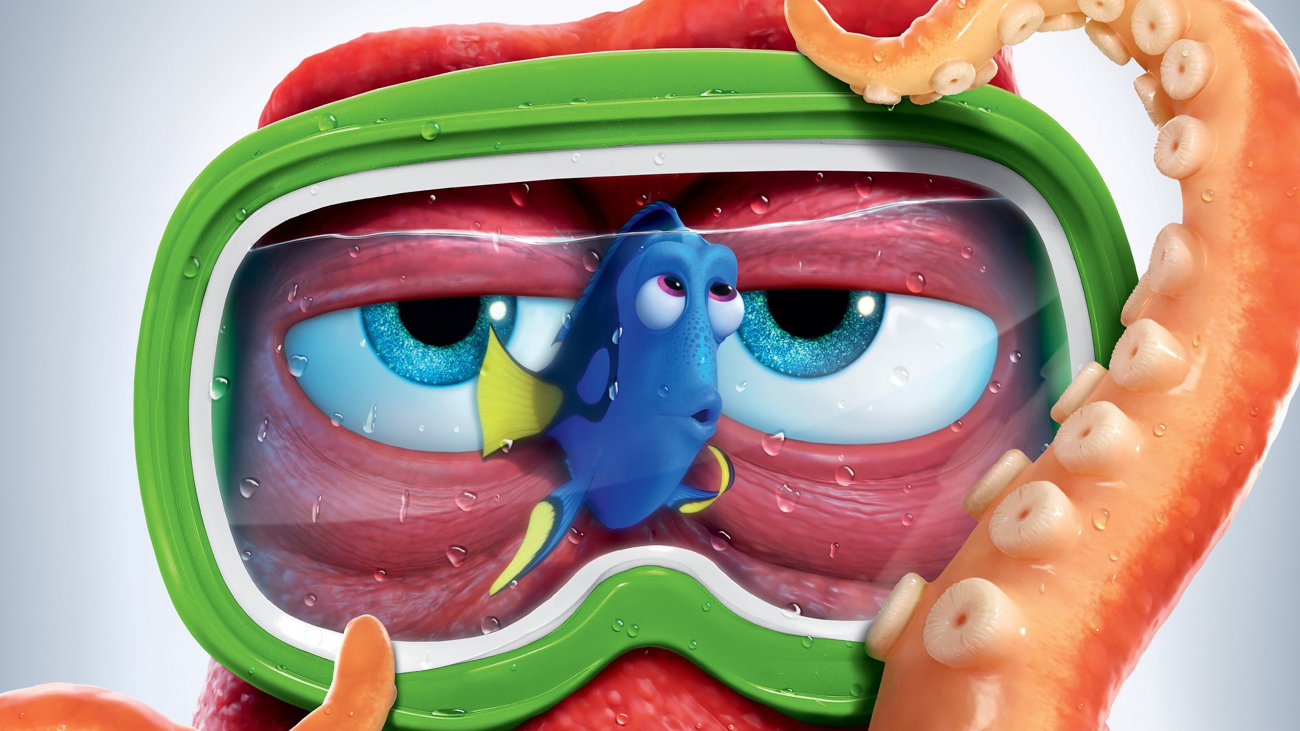 Wallpaper Hank Octopus de Buscando a Dori