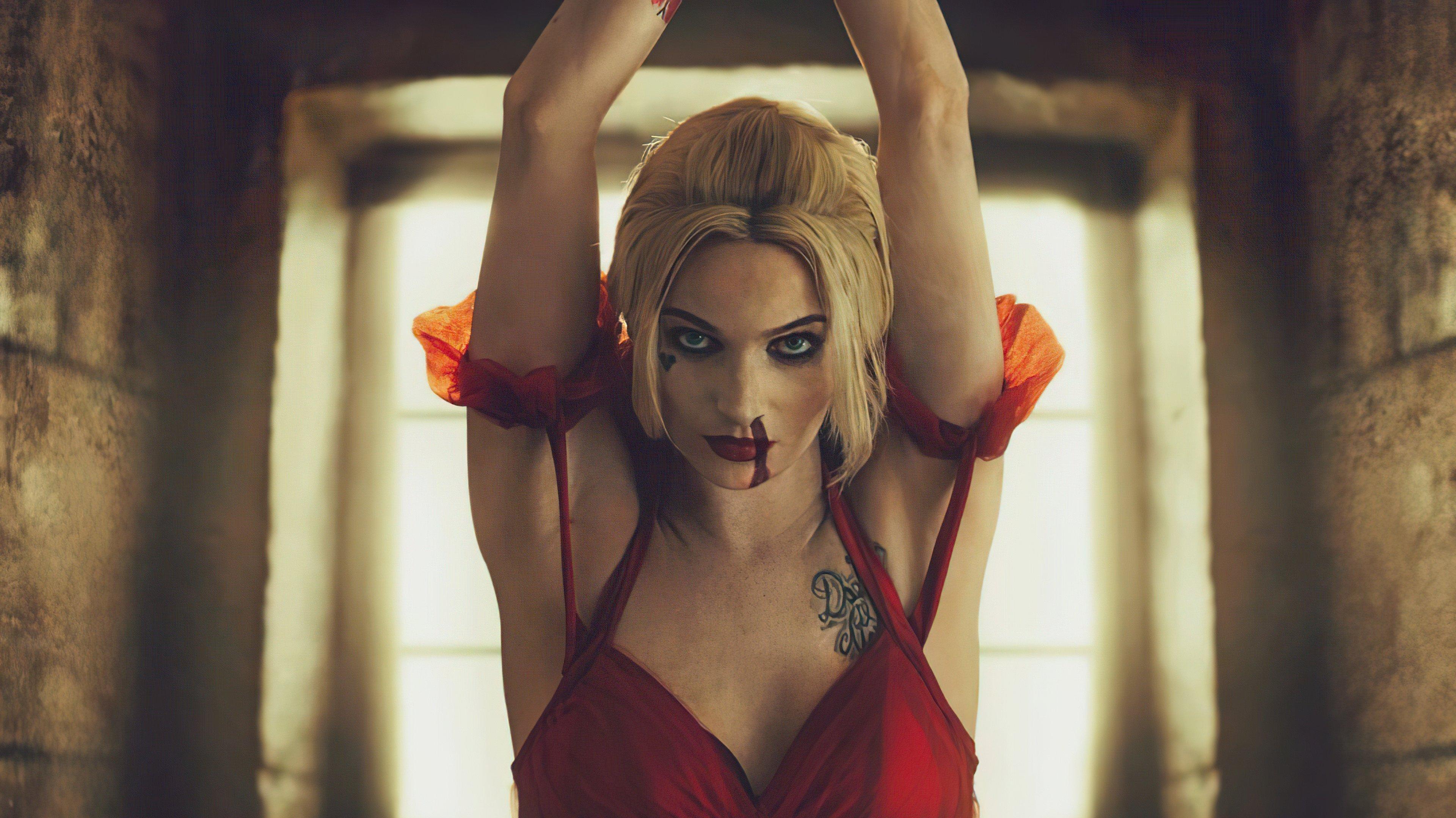 Fondos de pantalla Harley Quinn El escuadrón suicida Cosplay