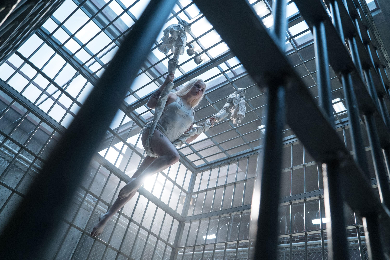 Fondos de pantalla Harley Quinn en prisión Escuadrón suicida