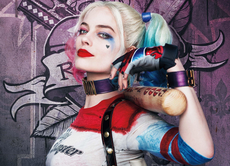 Fondos de pantalla Harley Quinn es Margot Robbie en Suicide Squad