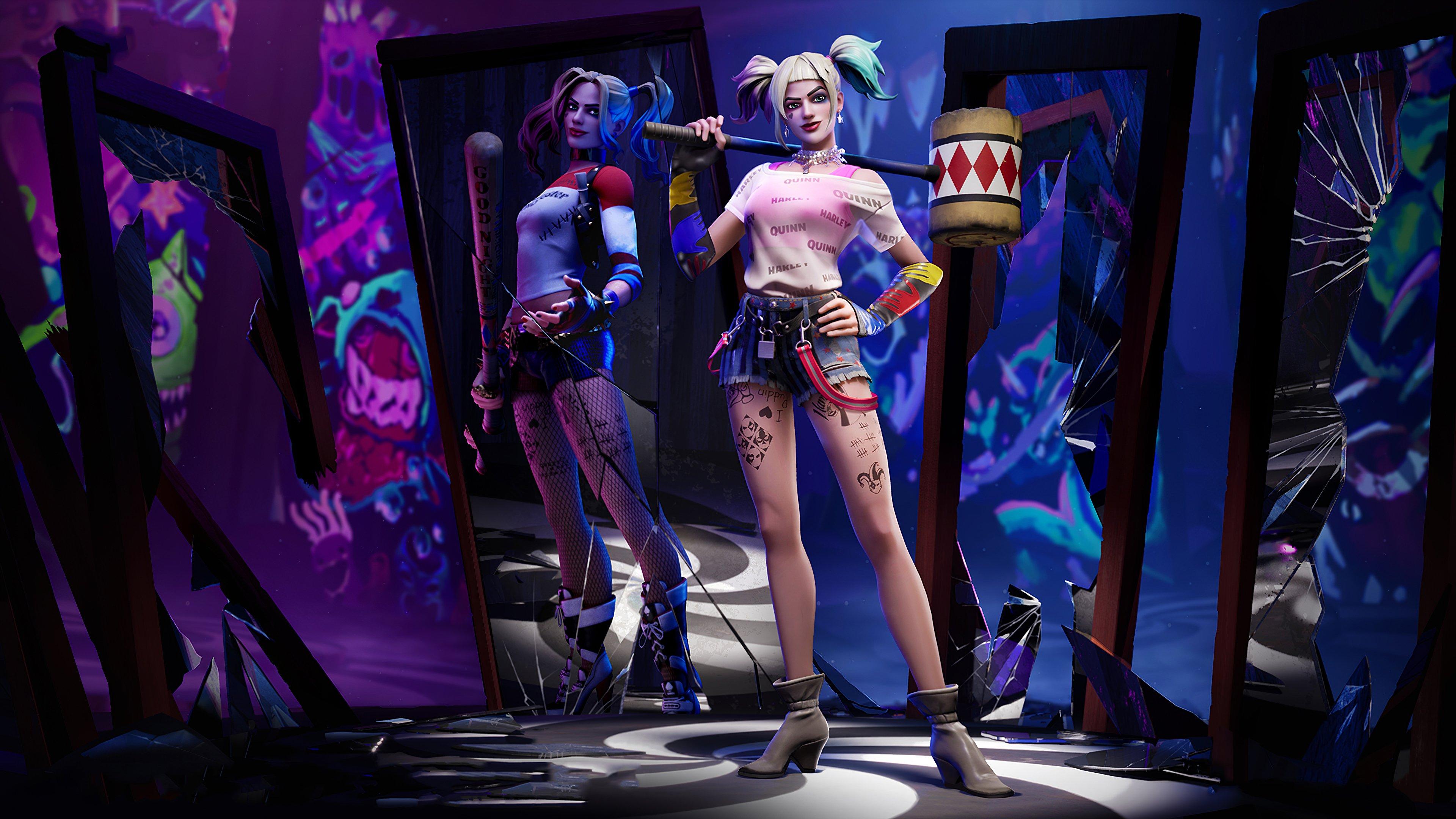 Fondos de pantalla Harley Quinn Fortnite