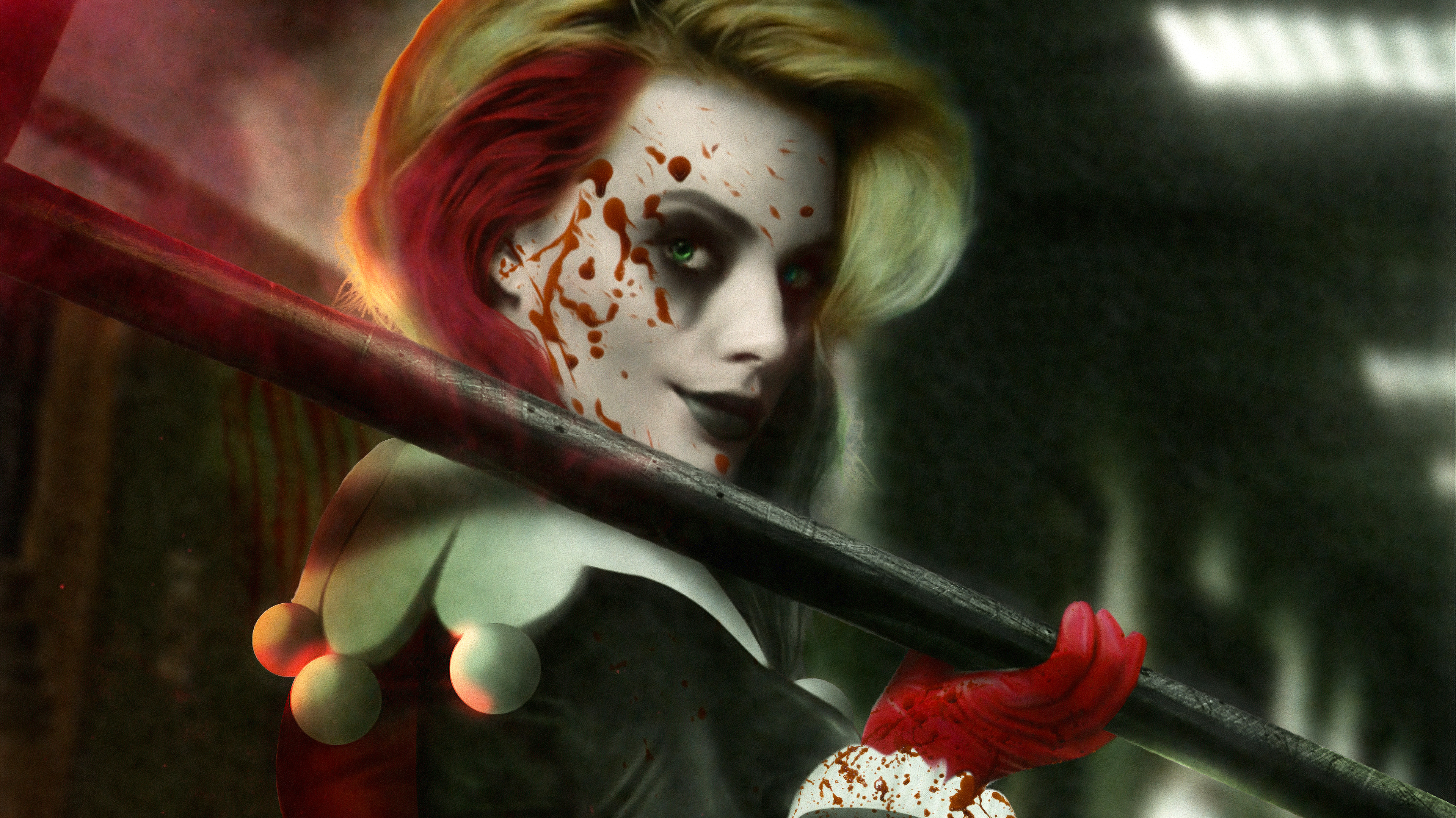 Wallpaper Harley Quinn The bkiid Queen