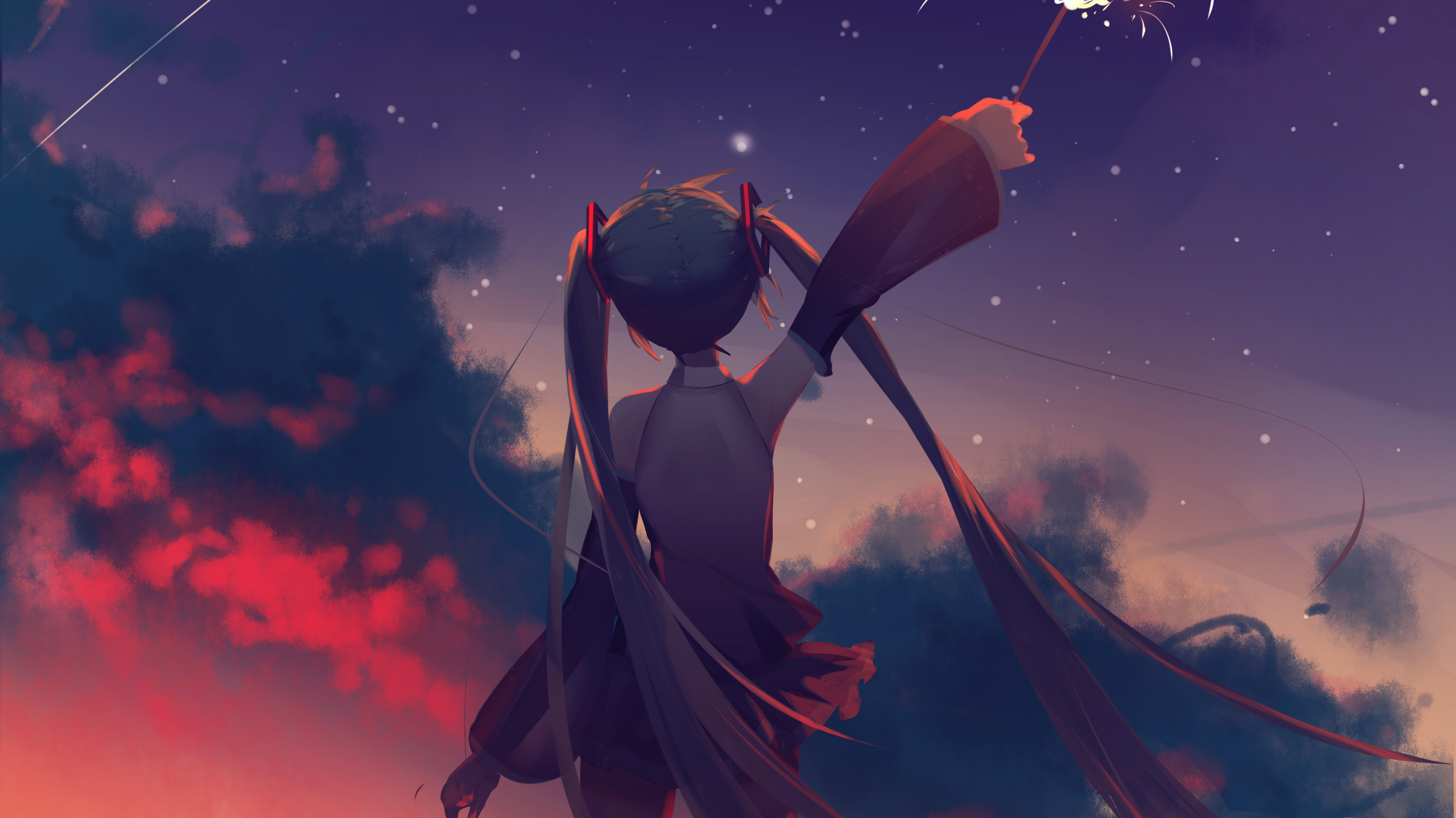 Fondos de pantalla Hatsune Miku Chica Anime