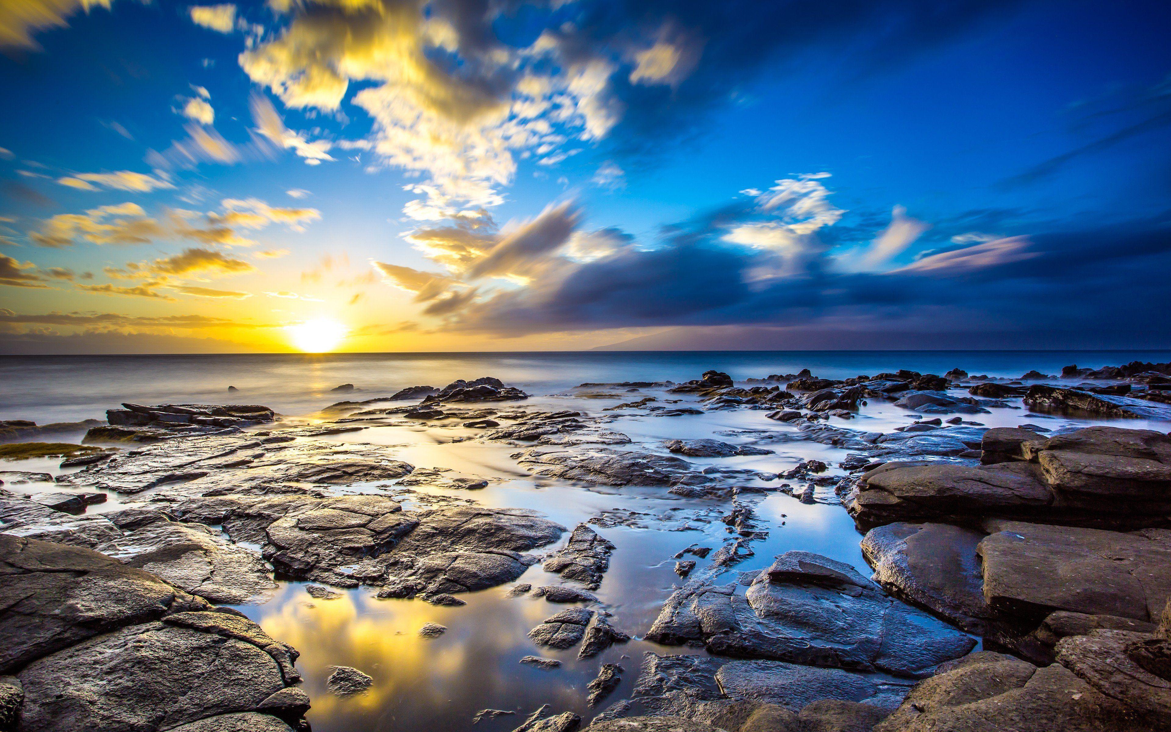Hawaii Sunset Wallpaper 4k Ultra Hd Id3319
