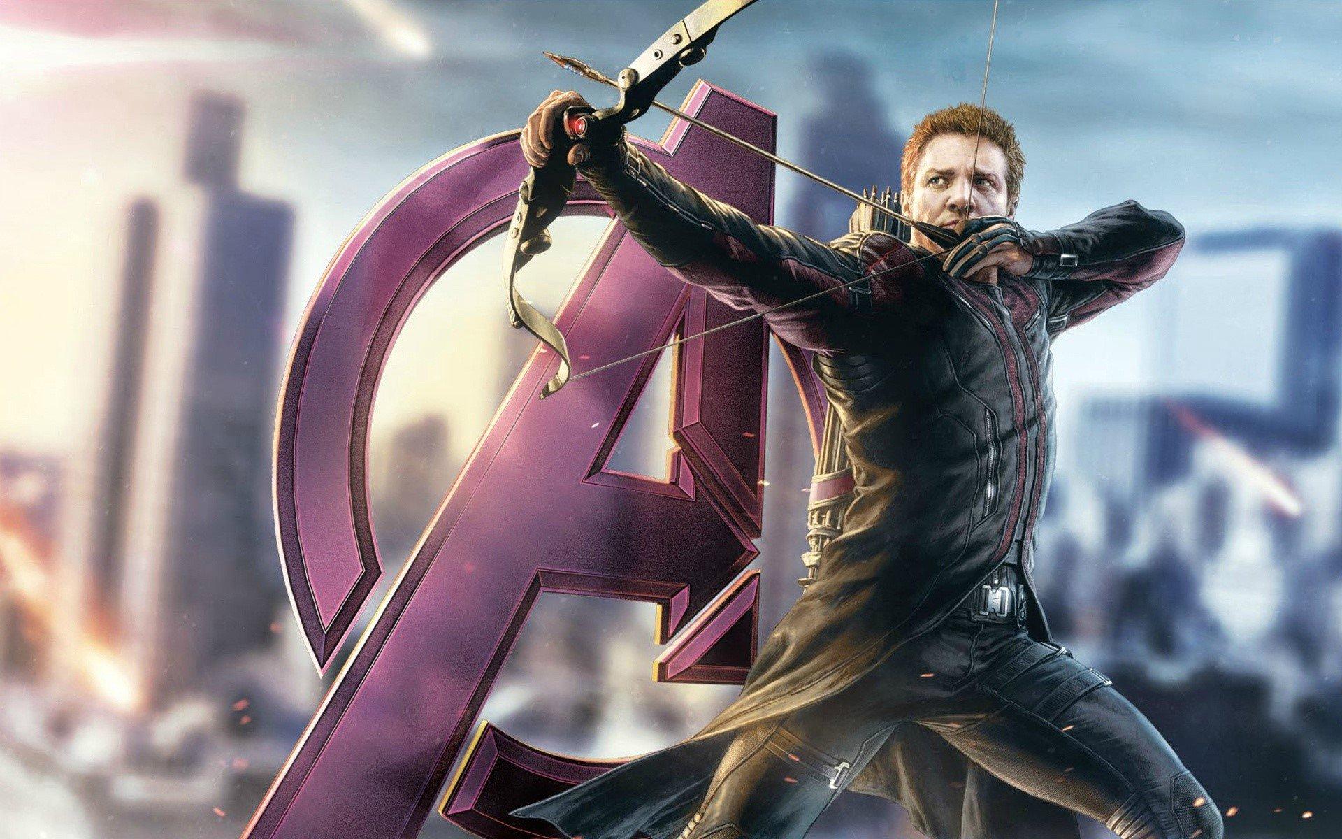 Wallpaper Hawkeye in Avengers