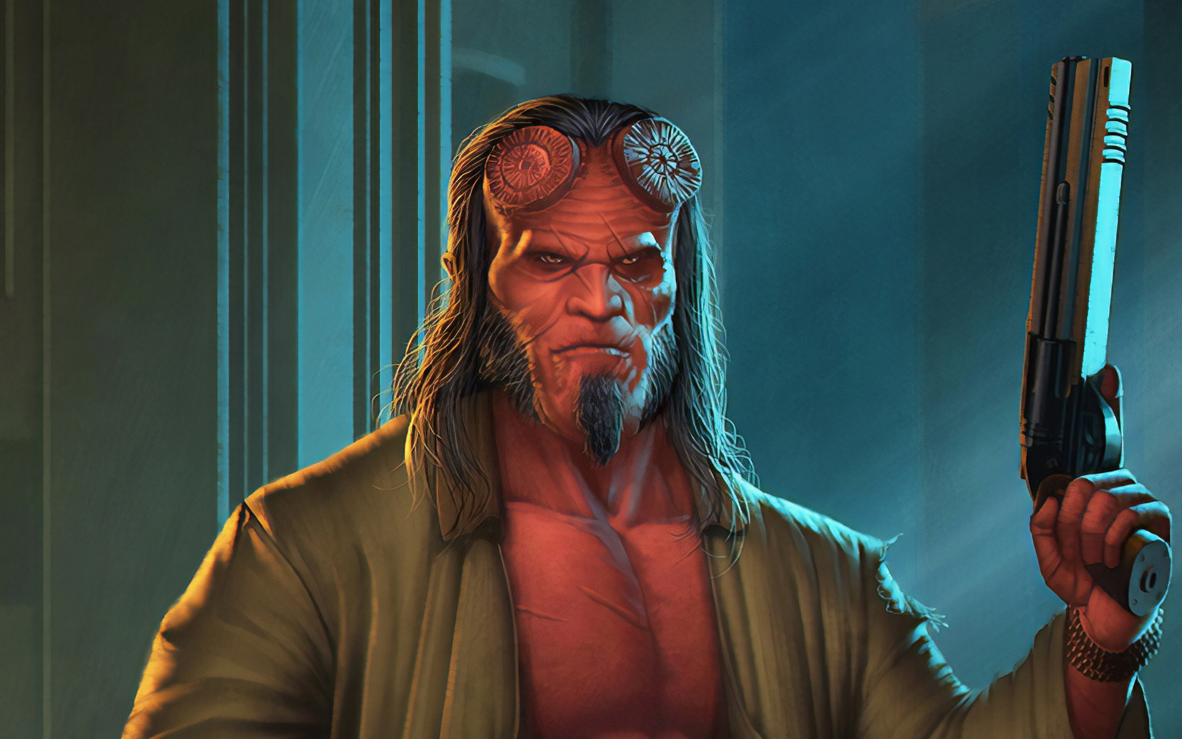 Fondos de pantalla Hellboy Fanart