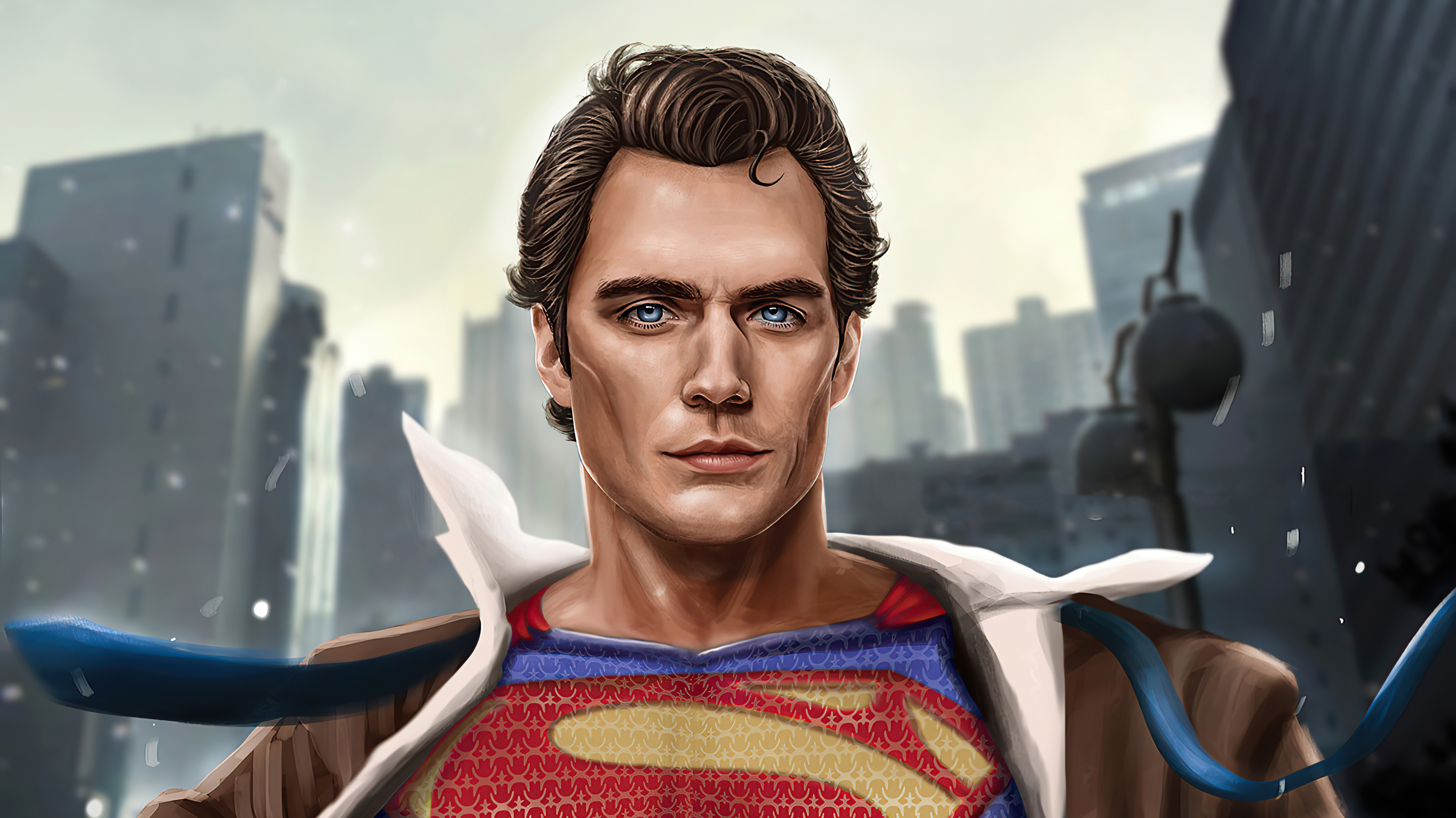 Wallpaper Henry Cavill as Superman 2020 Fanart