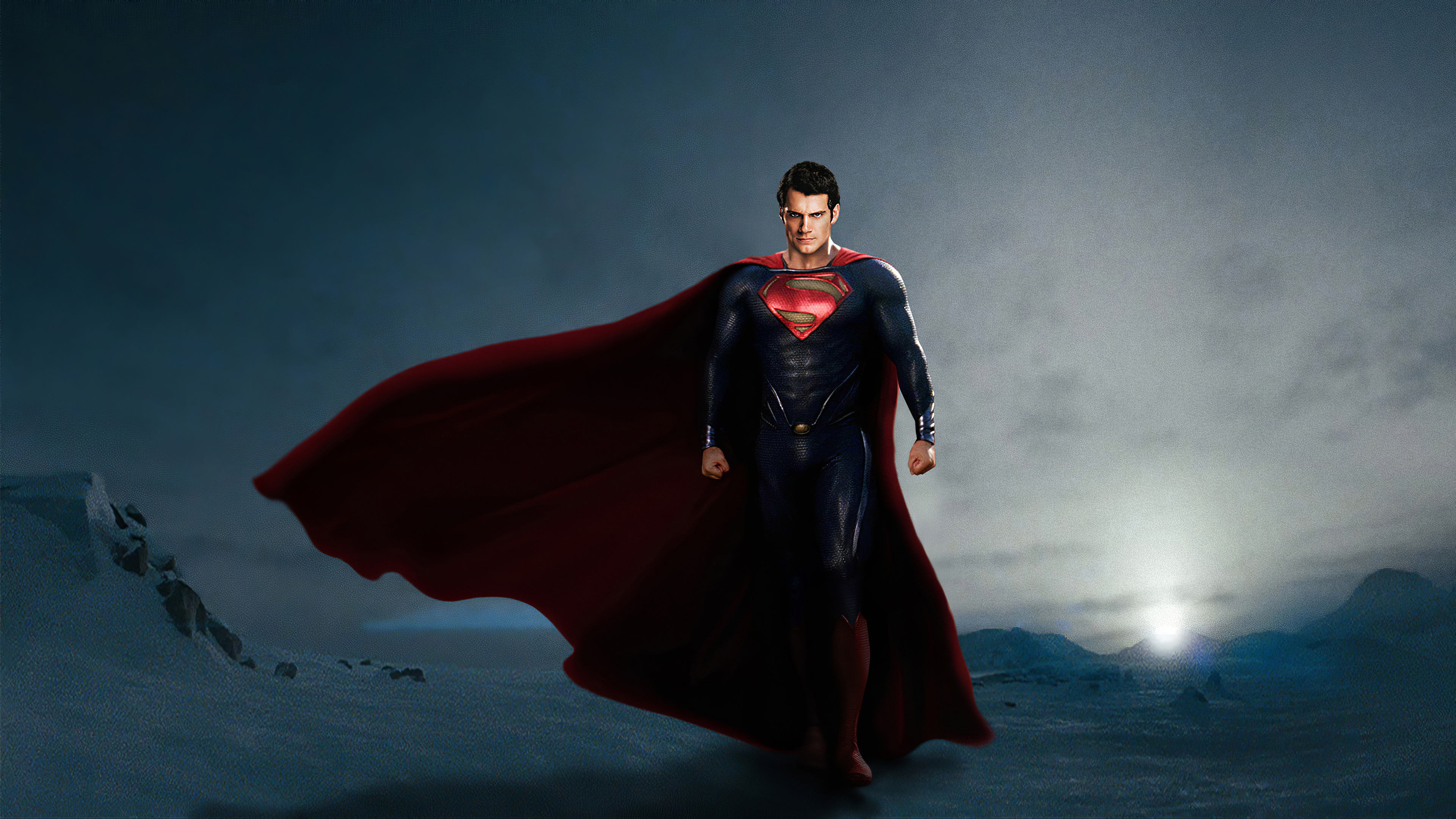 Wallpaper Henry Cavill as Superman