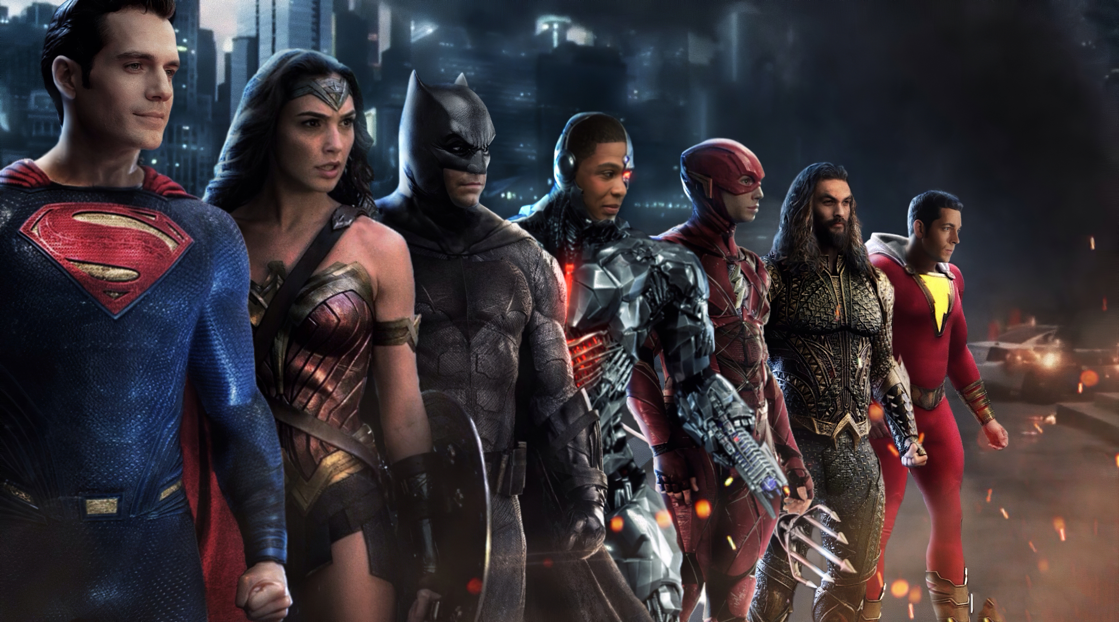 Wallpaper Heroes from Justice League