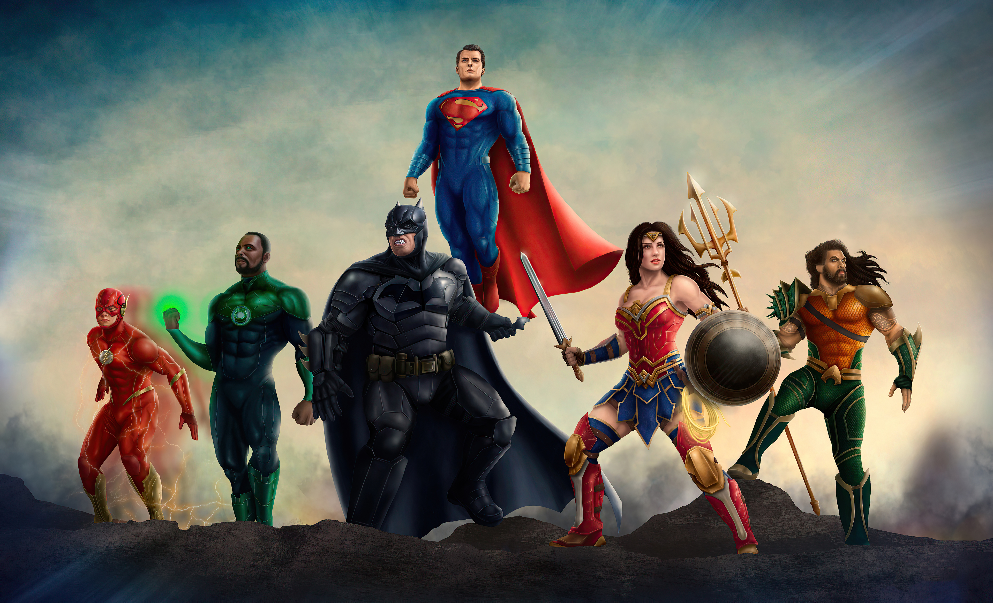 Wallpaper Justice League Heroes 2020