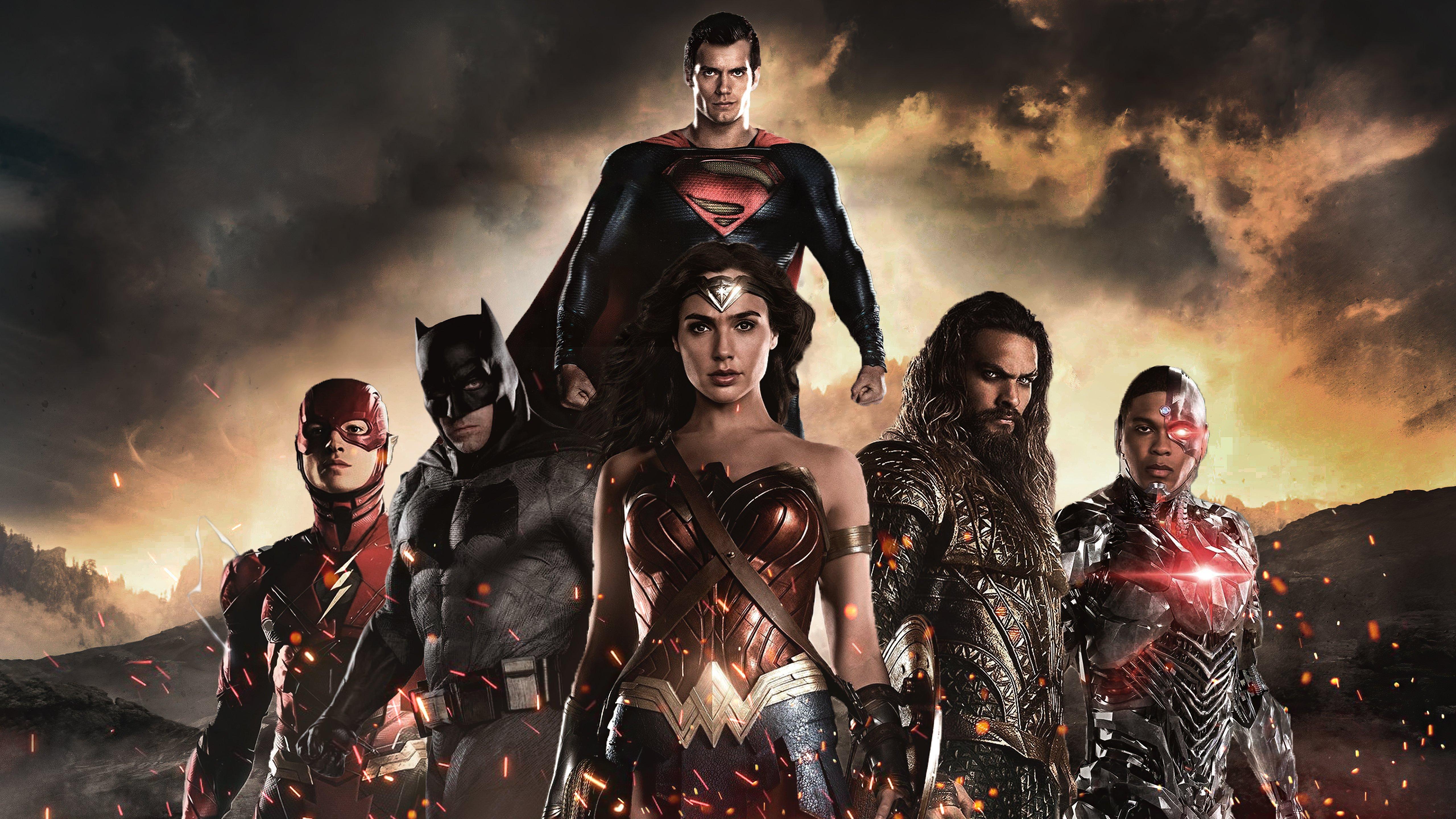 Fondos de pantalla Héroes de la Liga de la Justicia