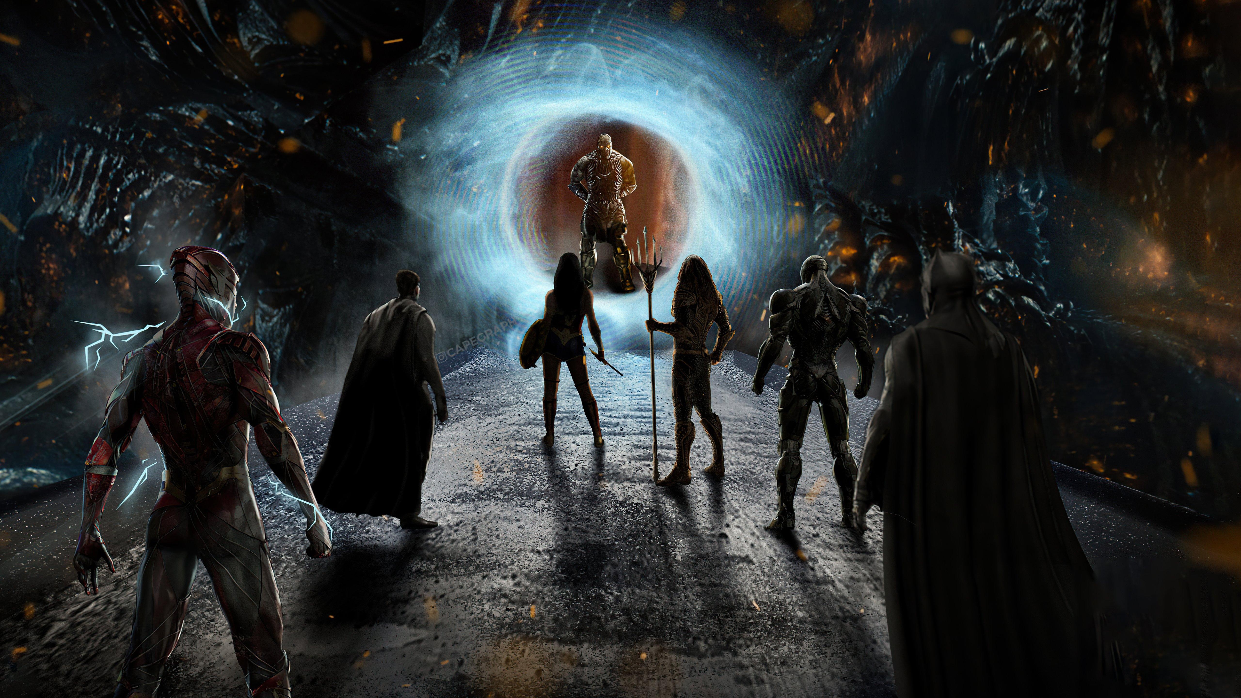 Fondos de pantalla Heroes de Liga de la Justicia contra Darkseid