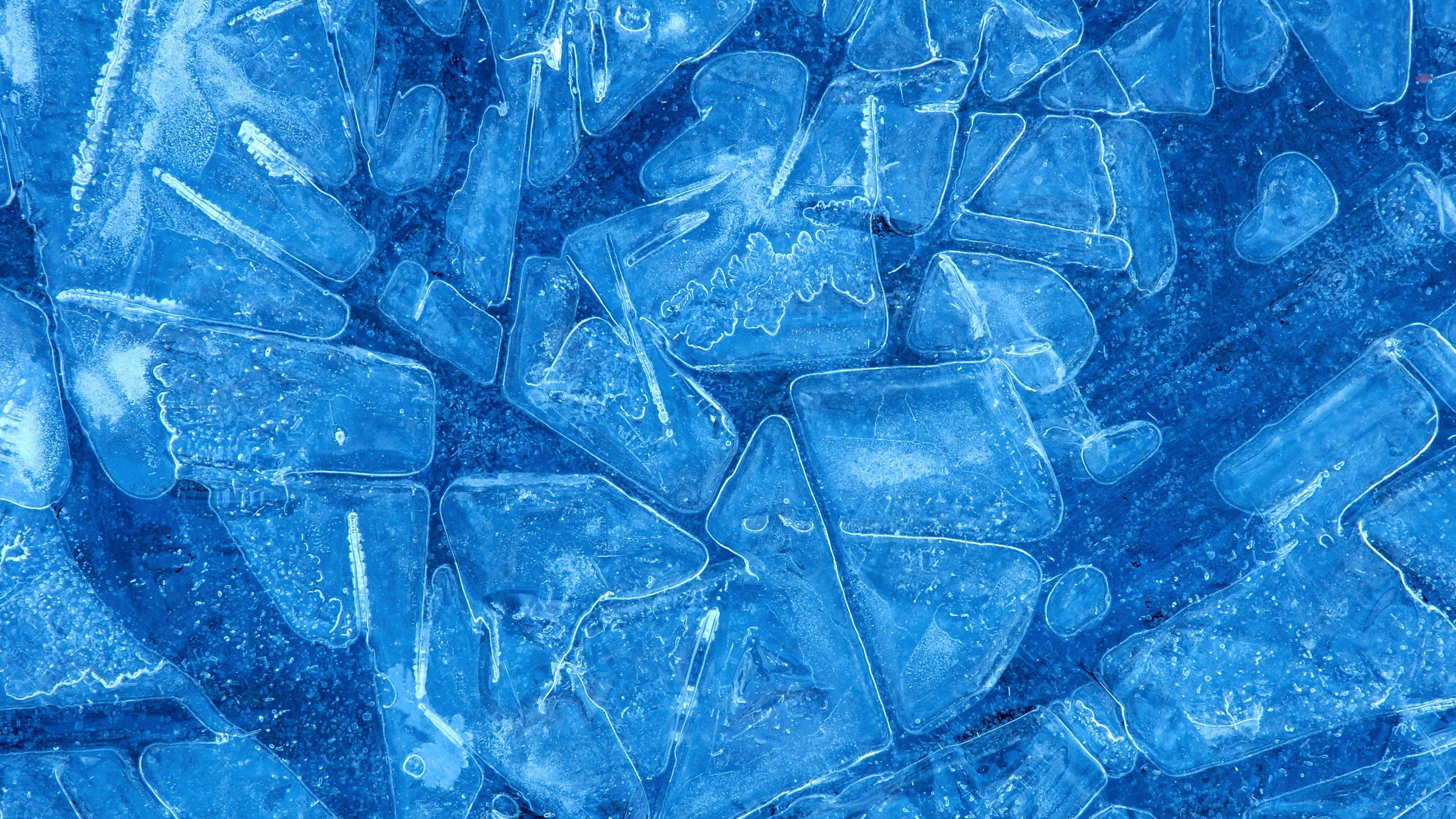 Wallpaper Blue ice