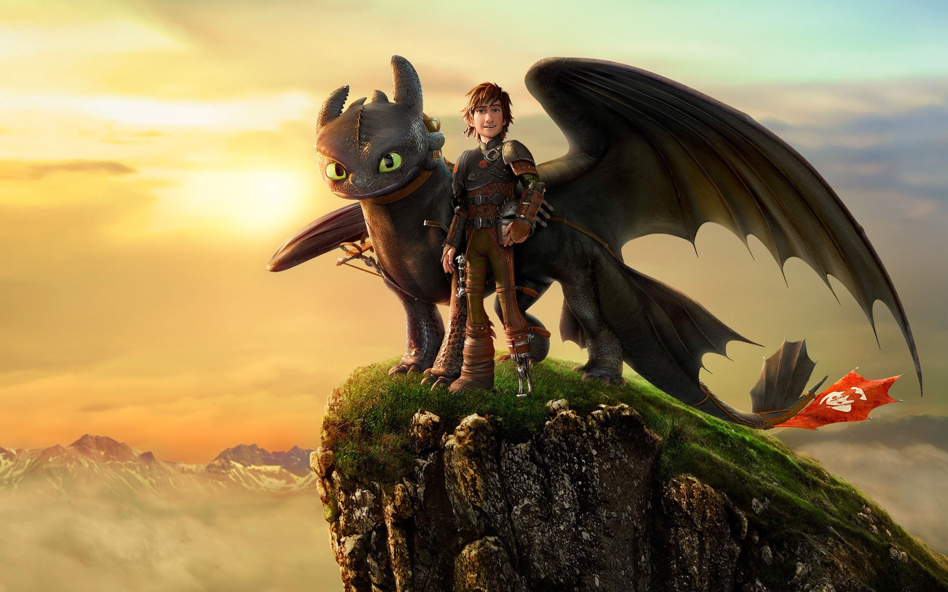 Wallpaper Hiccup and nocturnal fury