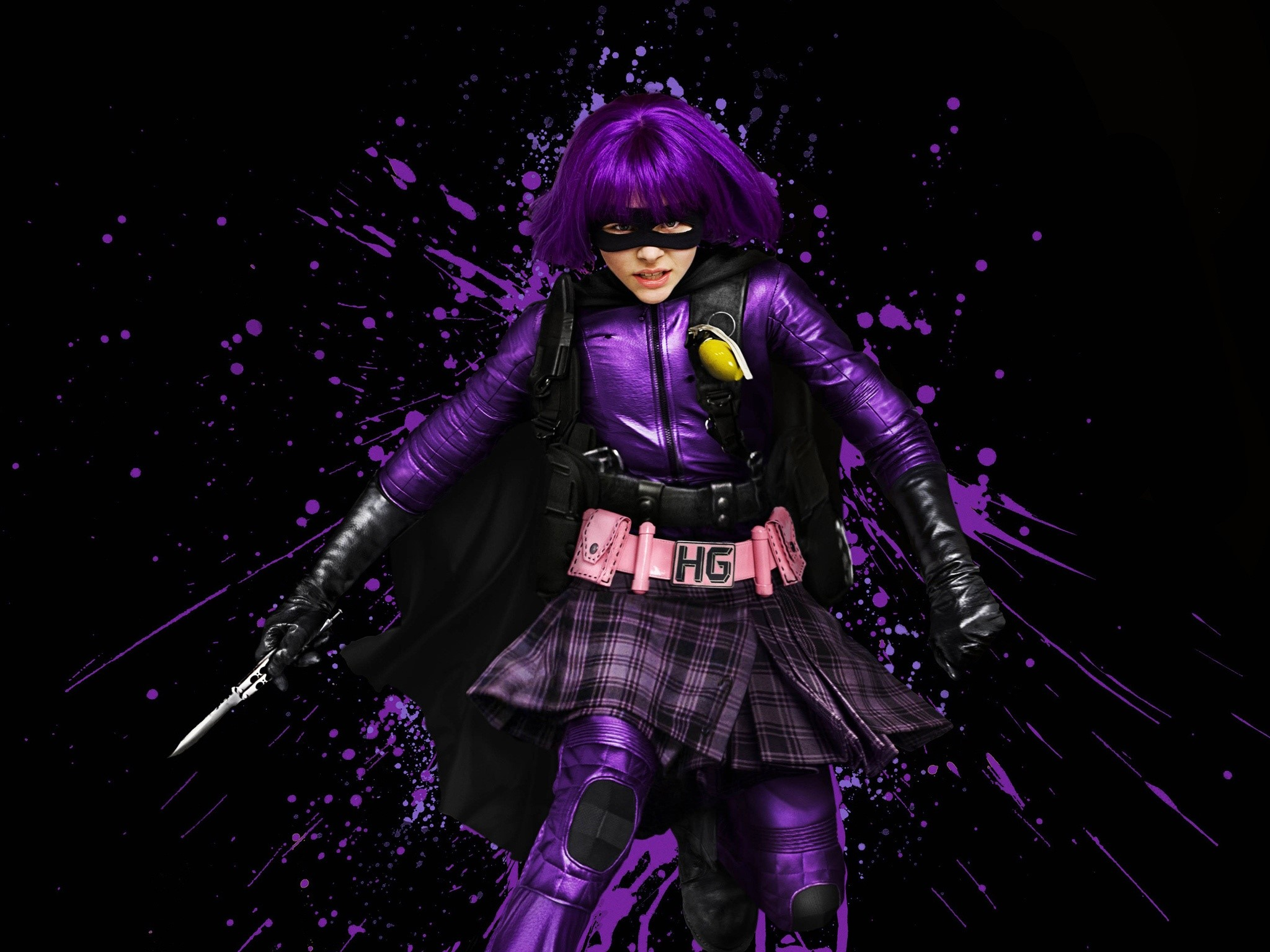 Wallpaper Hit girl for Kick Ass 2