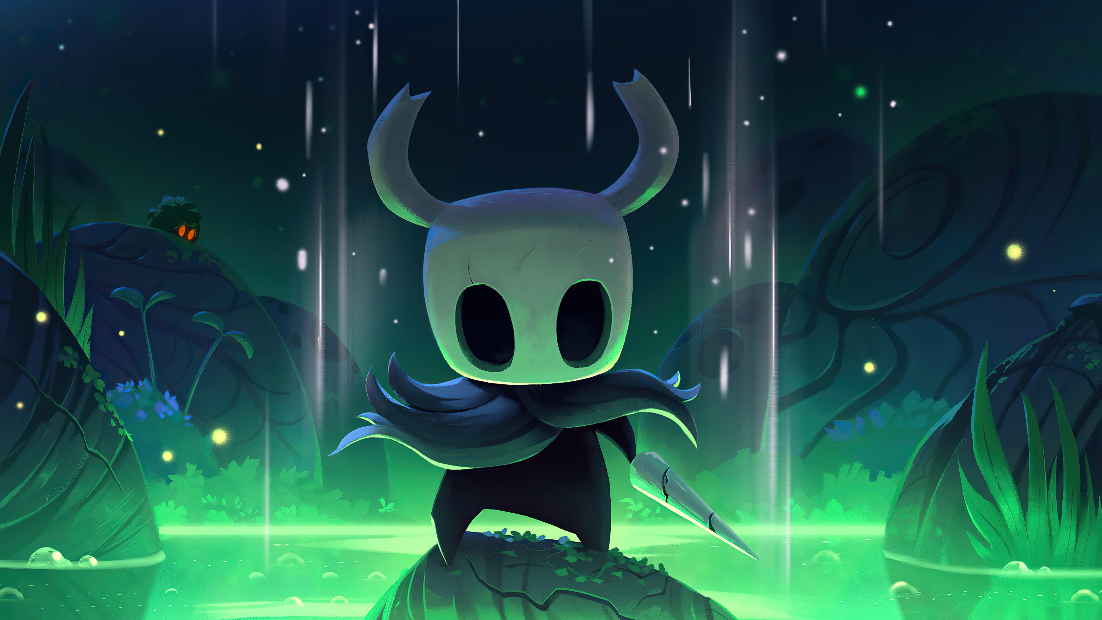Wallpaper Hollow Knight Fanart