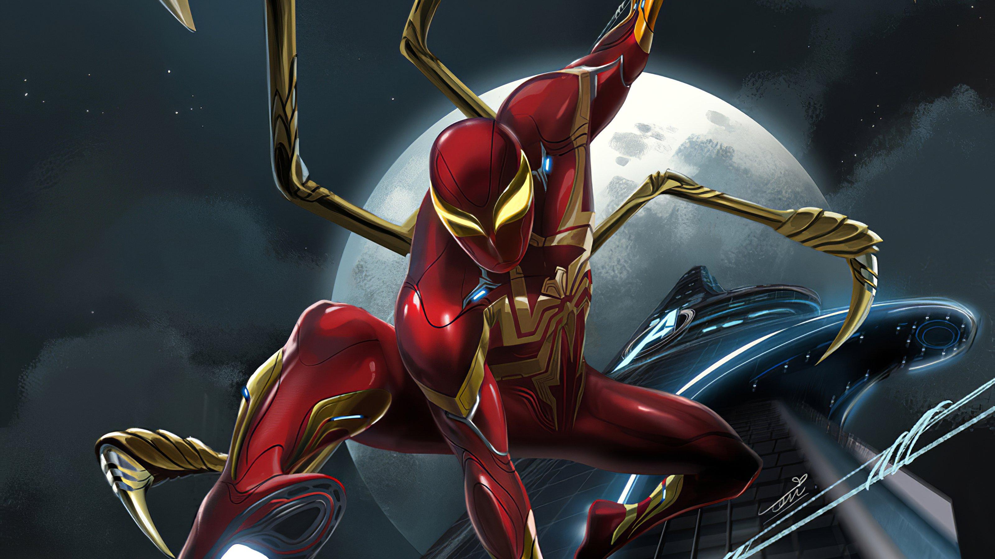 Fondos de pantalla Hombre araña de hierro