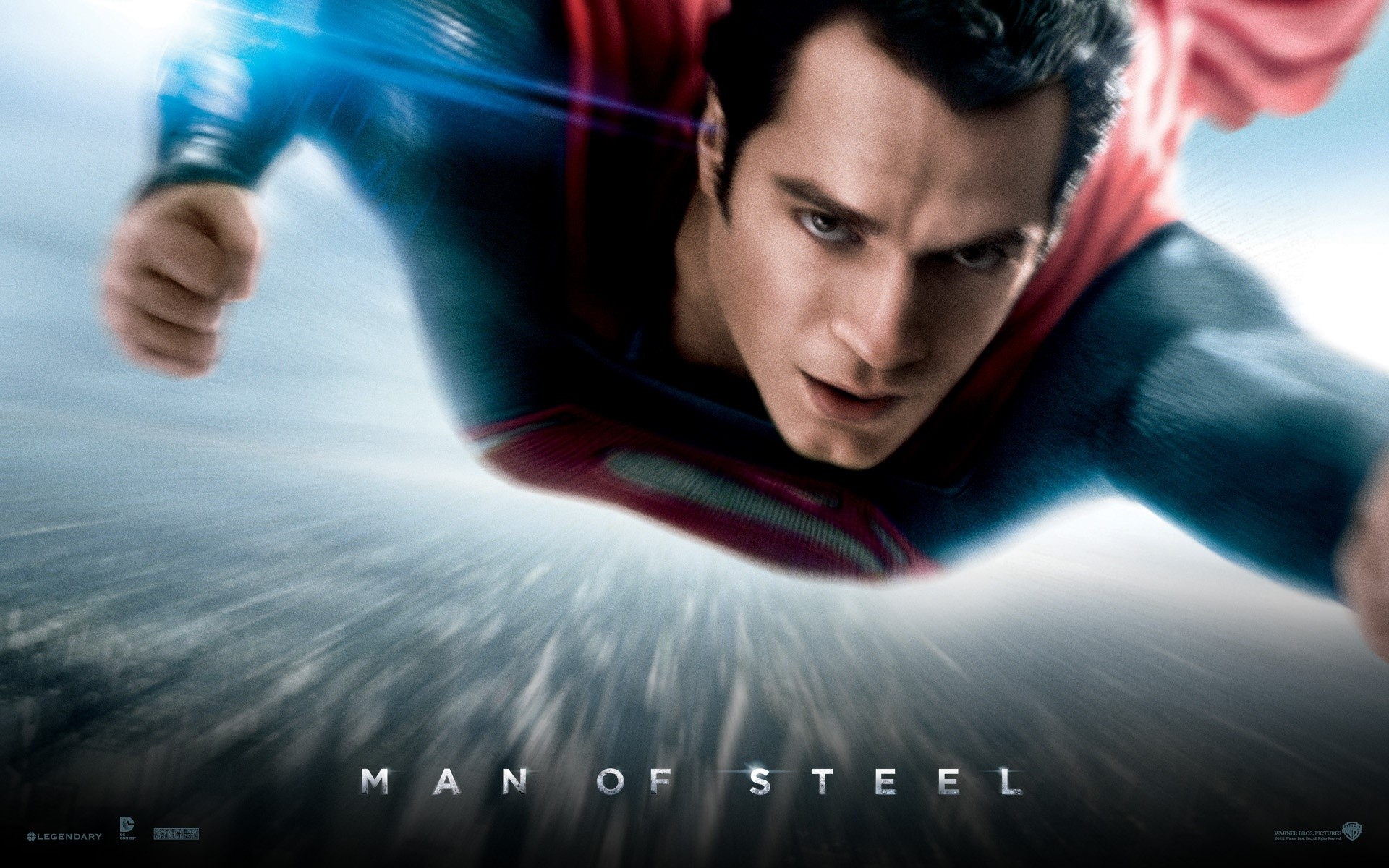 Wallpaper Man of steel, superman
