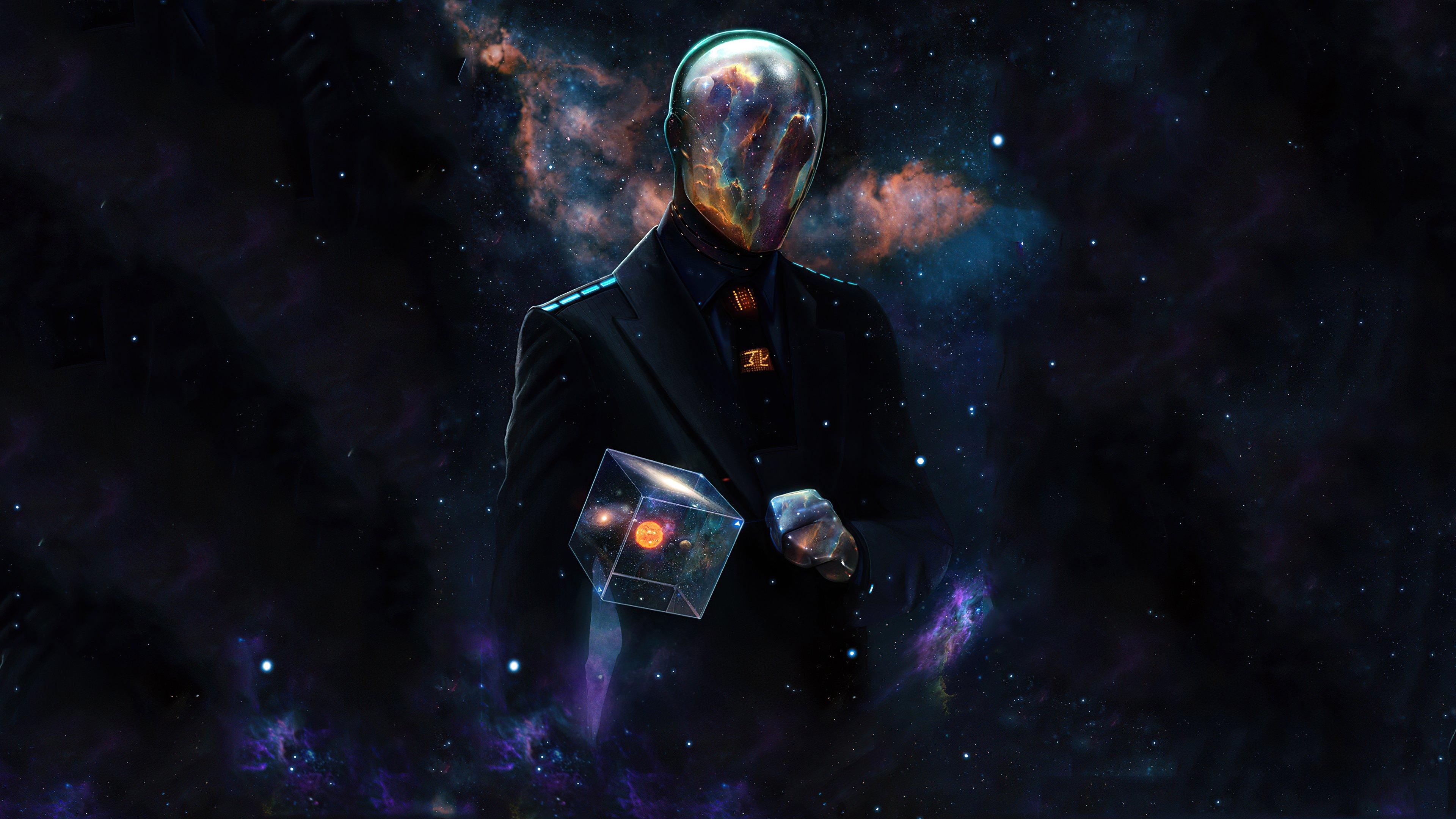 Fondos de pantalla Hombre del espacio