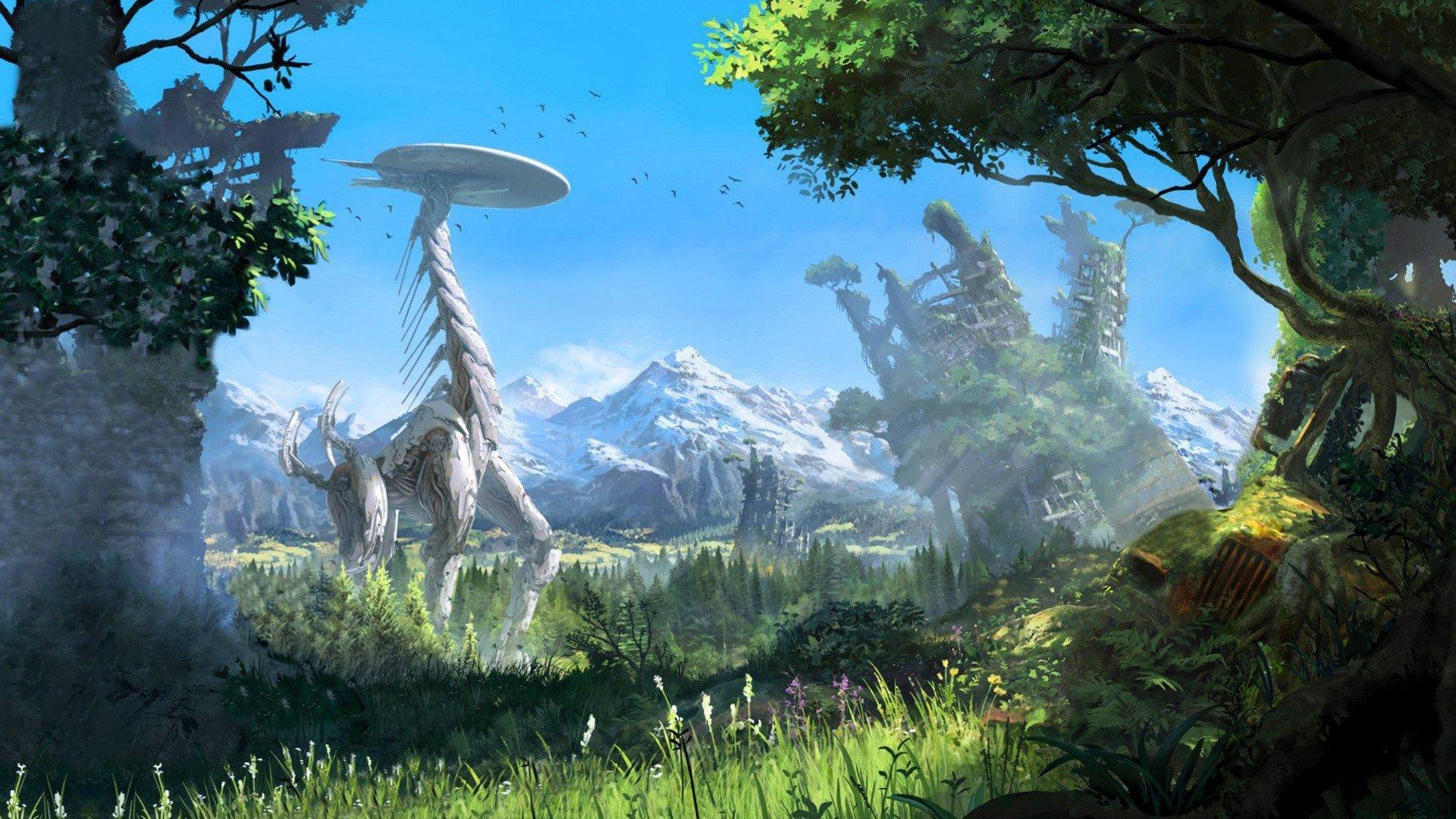 Fondo de pantalla de Horizon Zero Down E3 Imágenes