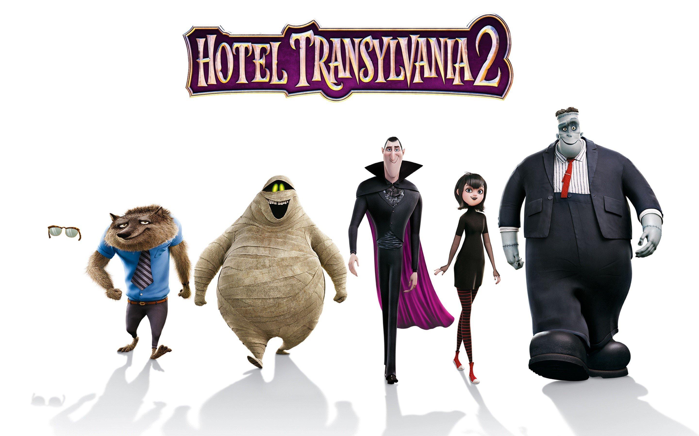 Fondos de pantalla Hotel transylvania 2