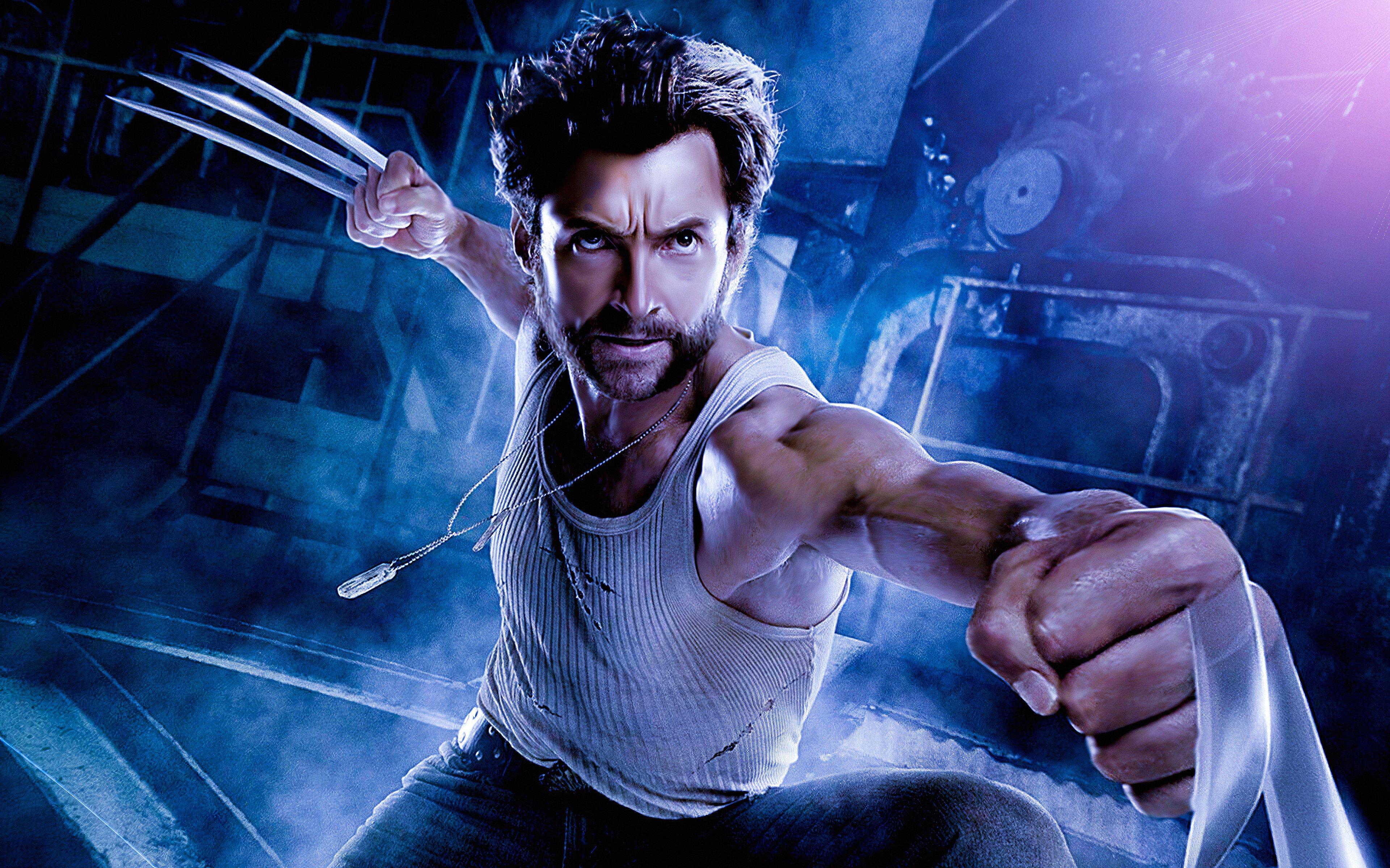 Fondos de pantalla Hugh Jackman como Wolverine arte digital