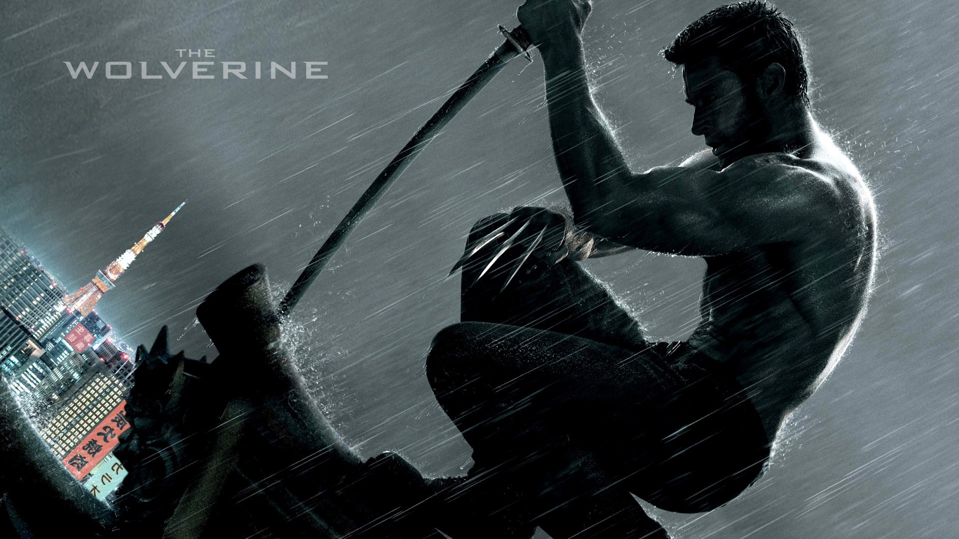 Wallpaper Hugh Jackman in Wolverine