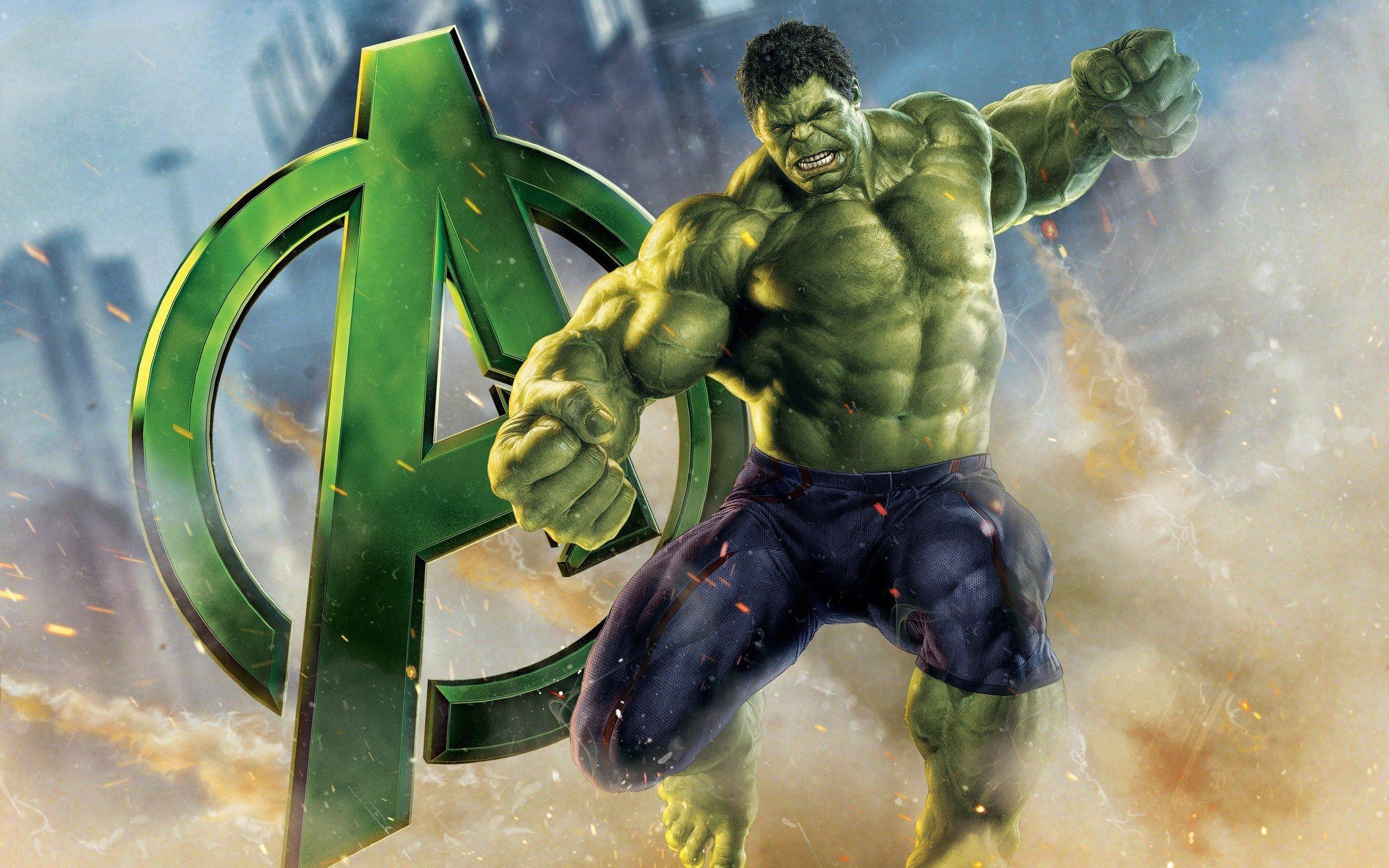 Wallpaper Hulk in Avengers