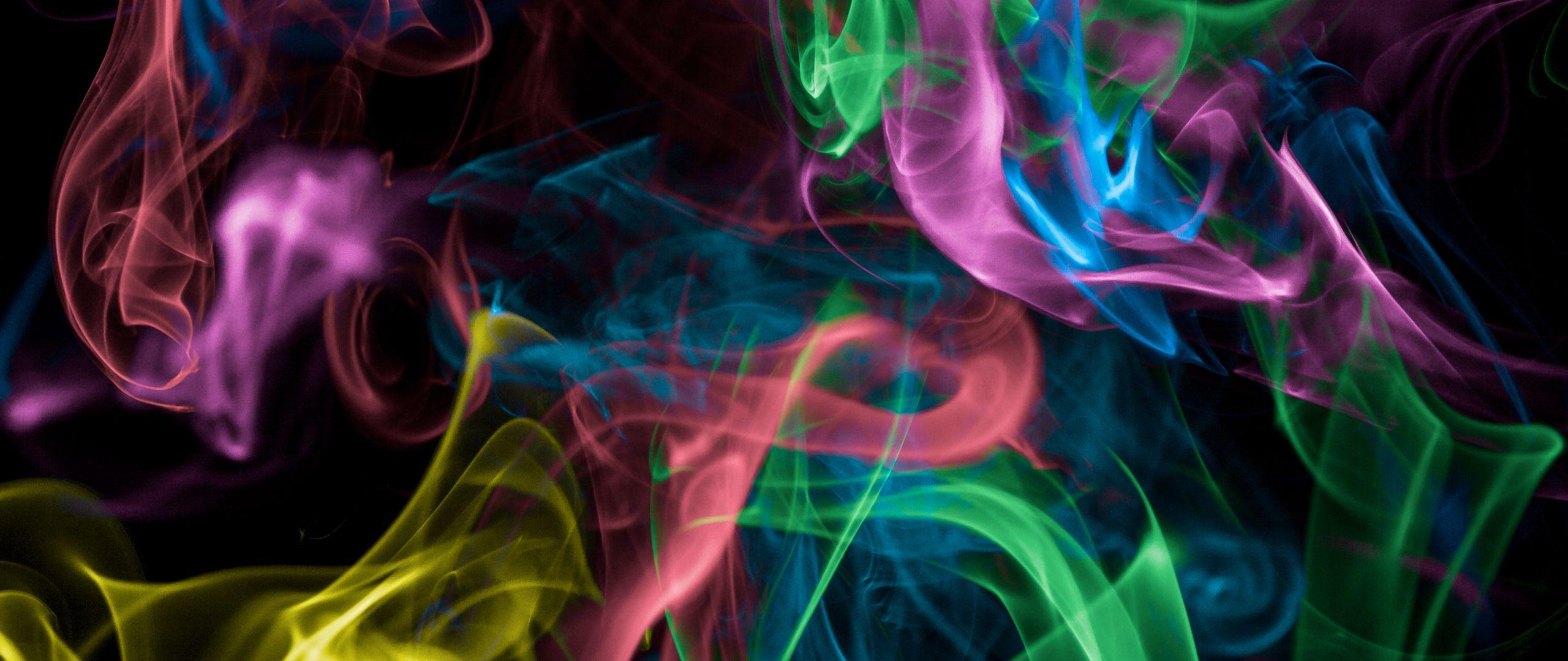 Fondos de pantalla Humo colorido