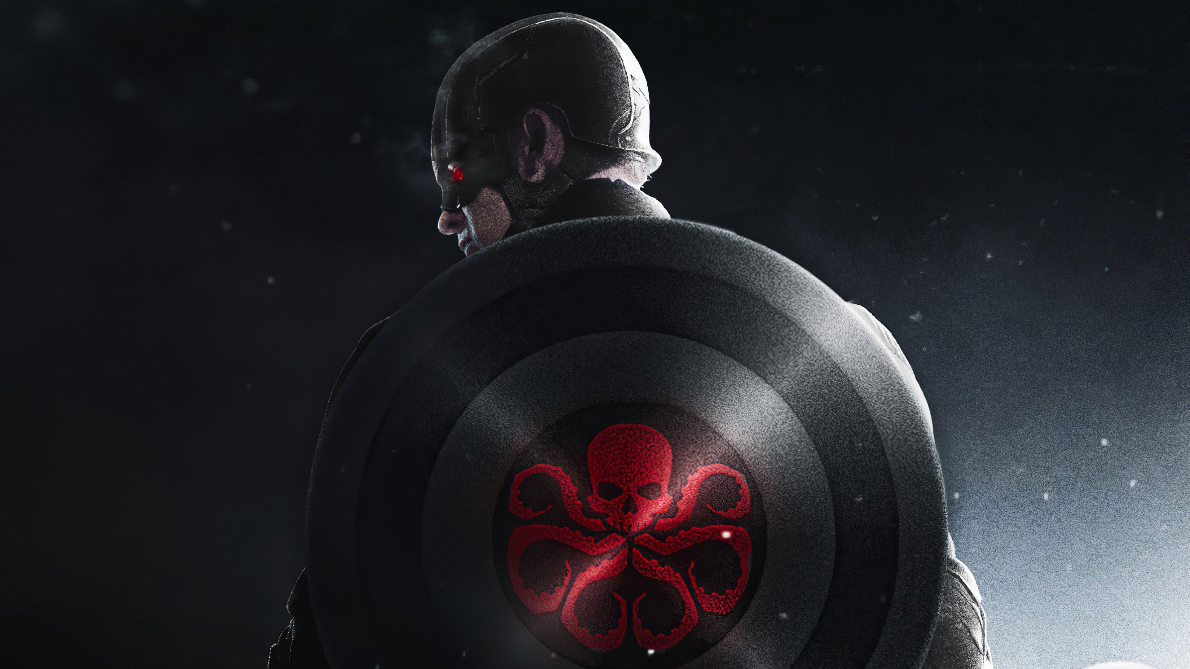 Fondos de pantalla Hydra Capitán América