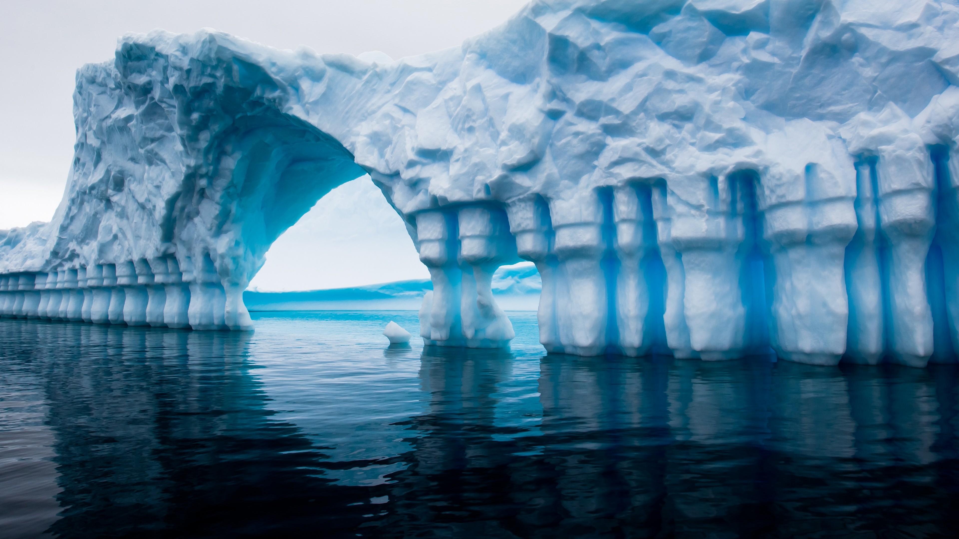 Wallpaper Icebern in Antarctica's sea