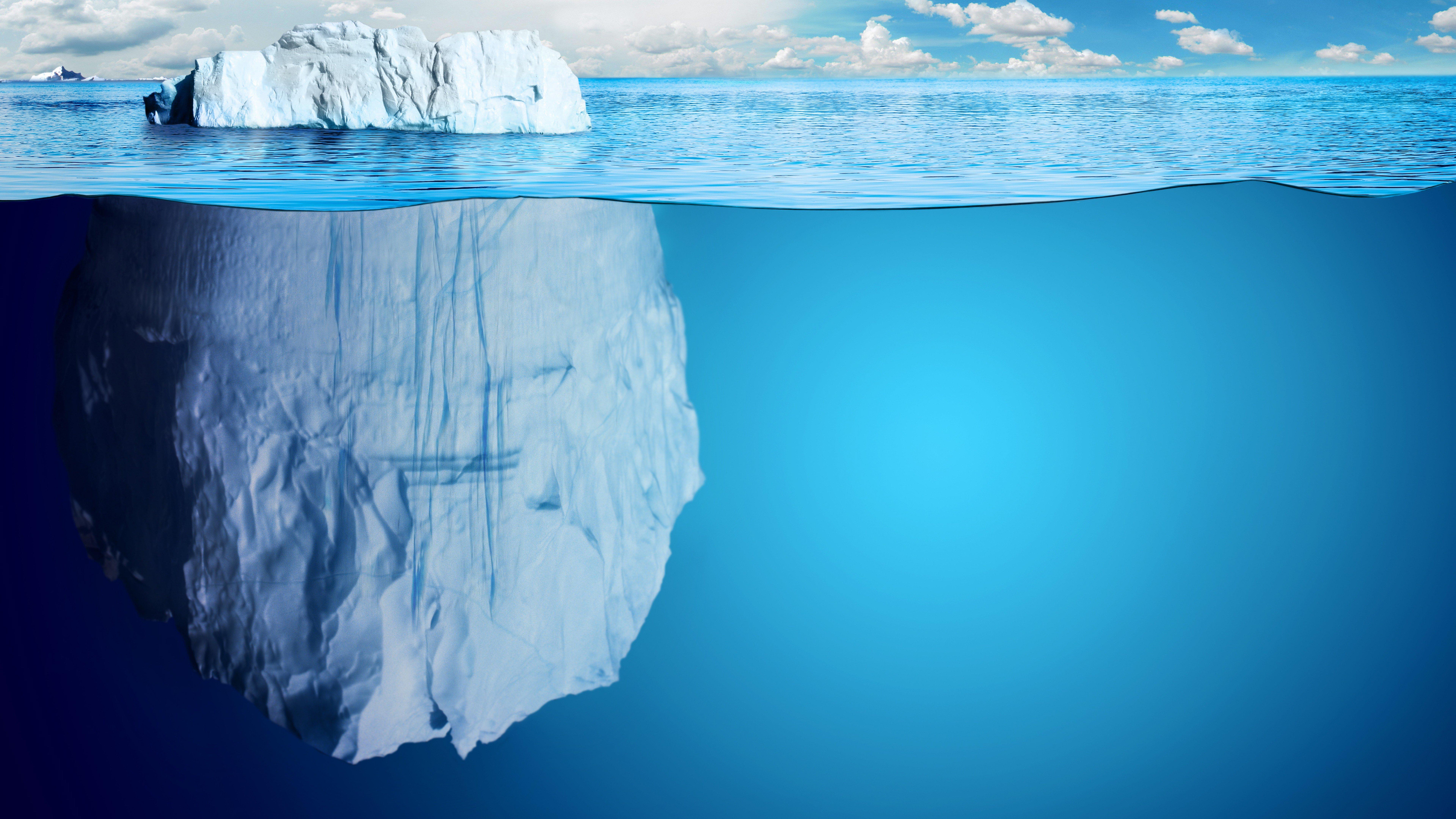 Fondos de pantalla Iceberg en el oceano