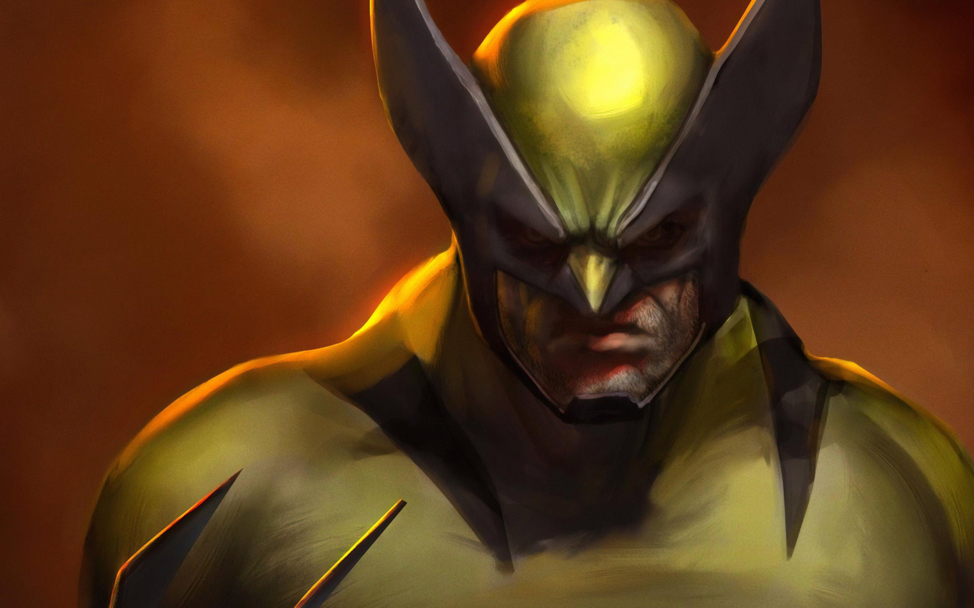 Fondos de pantalla Ilustración digital de Wolverine