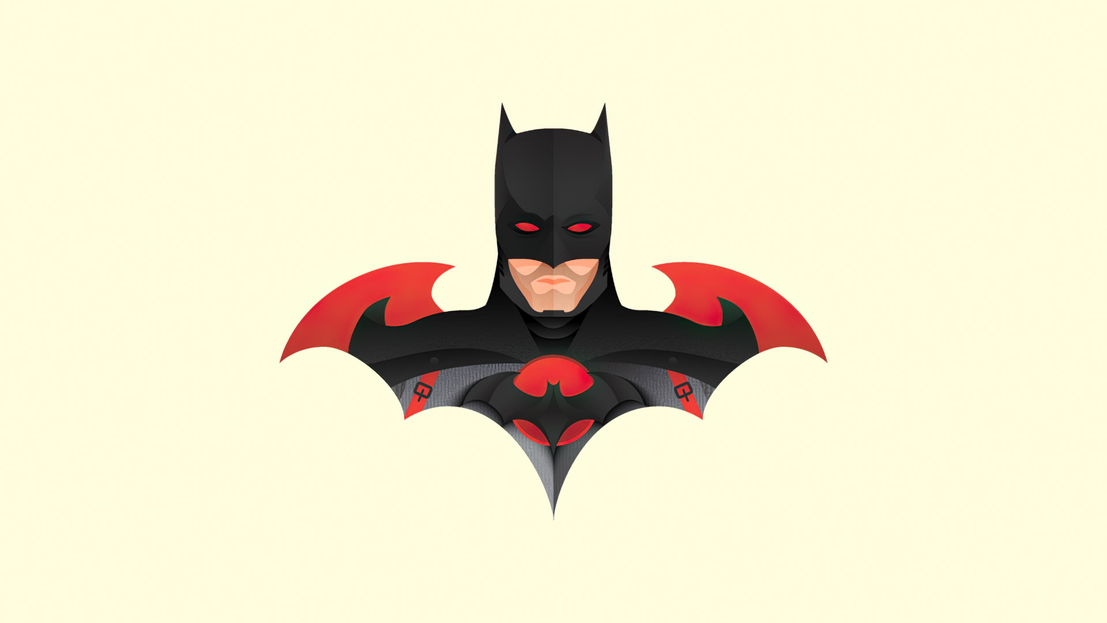 Fondos de pantalla Ilustracion Minimalista de Batman