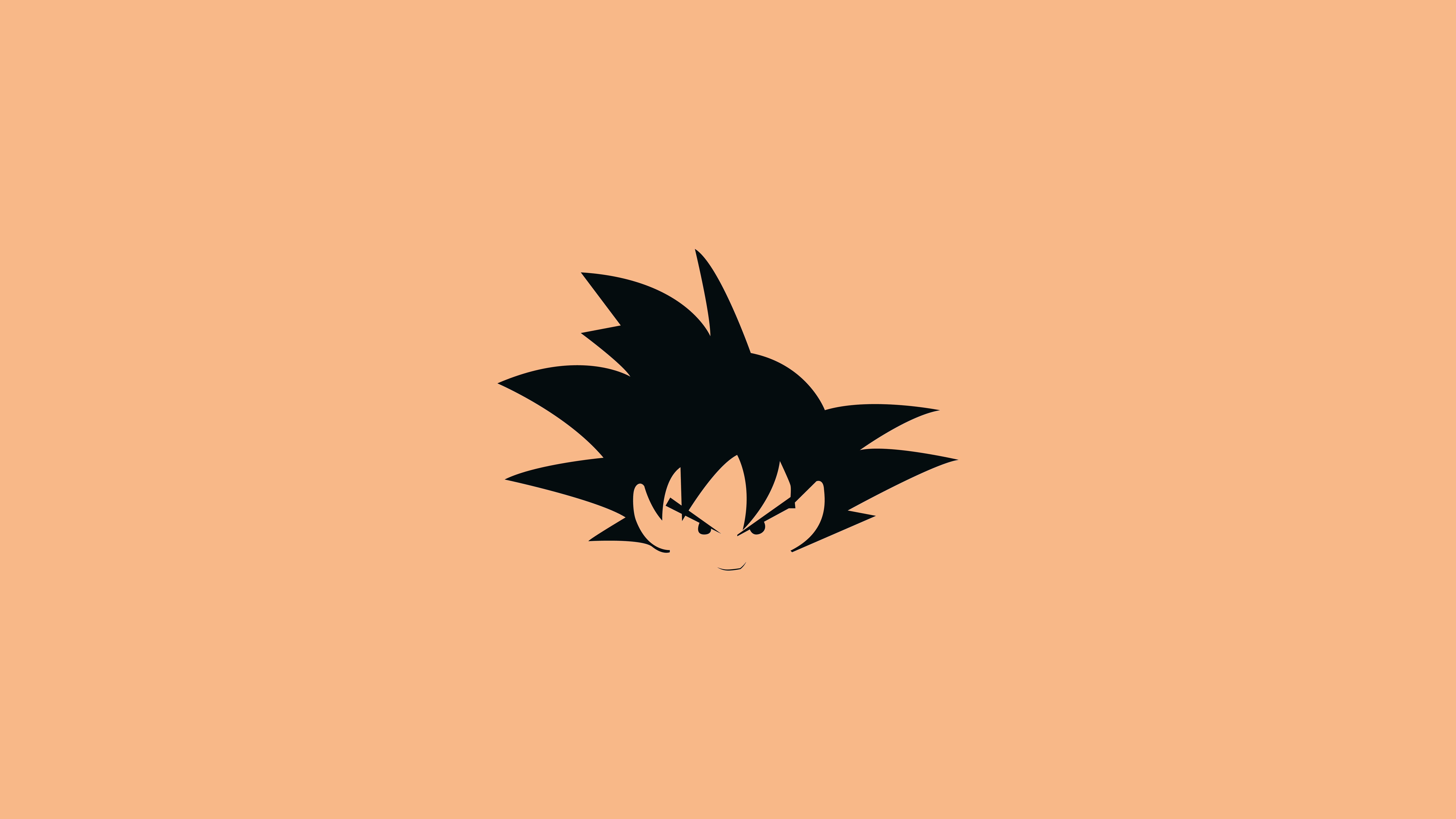 Fondos de pantalla Anime Ilustración minimalista de Goku