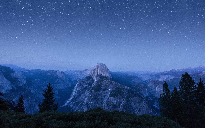 Fondos de pantalla Imagen de montañas en Apple OS