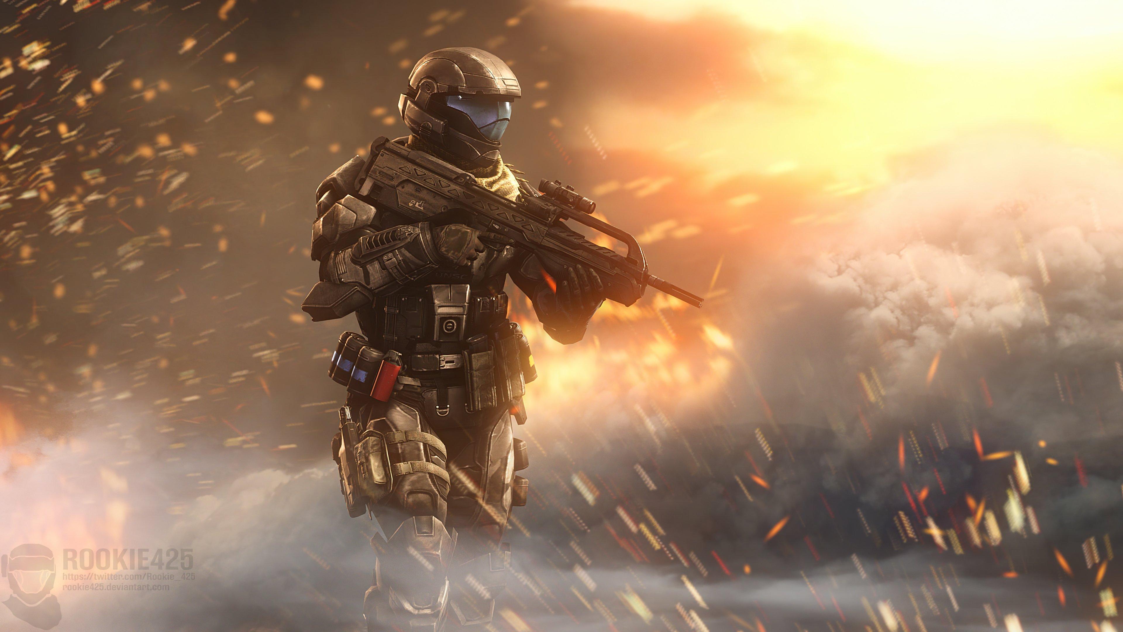 Fondos de pantalla Incendary Halo