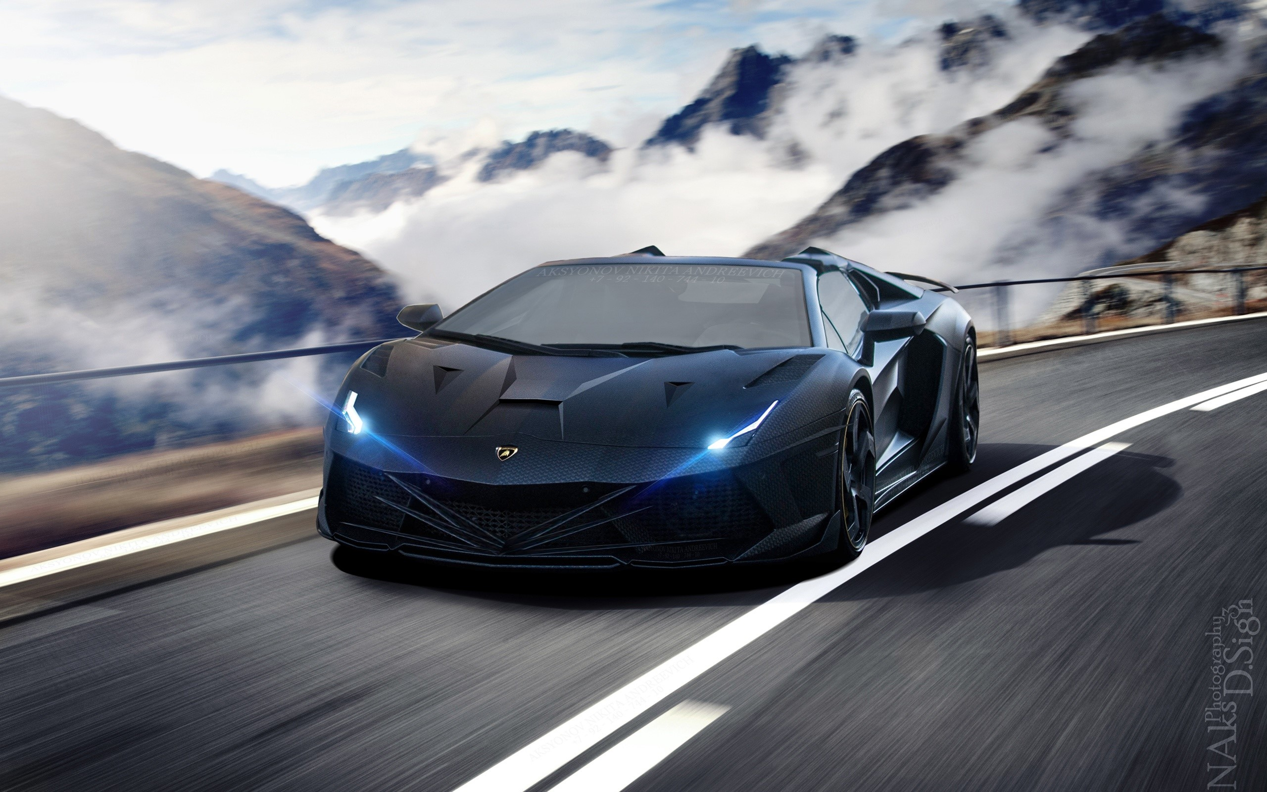 Wallpaper Insane Lamborghini Aventador