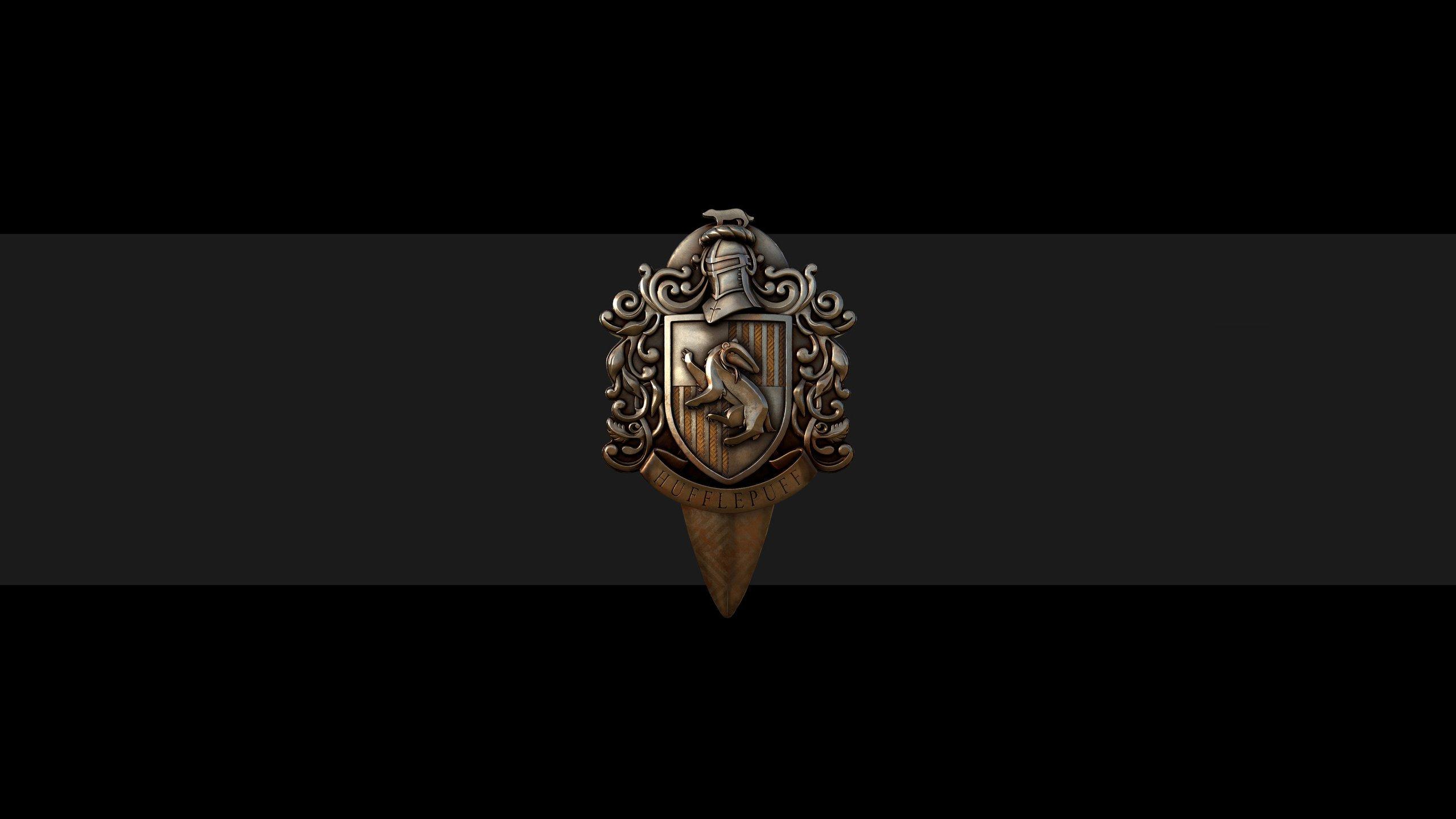 Wallpaper Hufflepuff  Badge Harry Potter