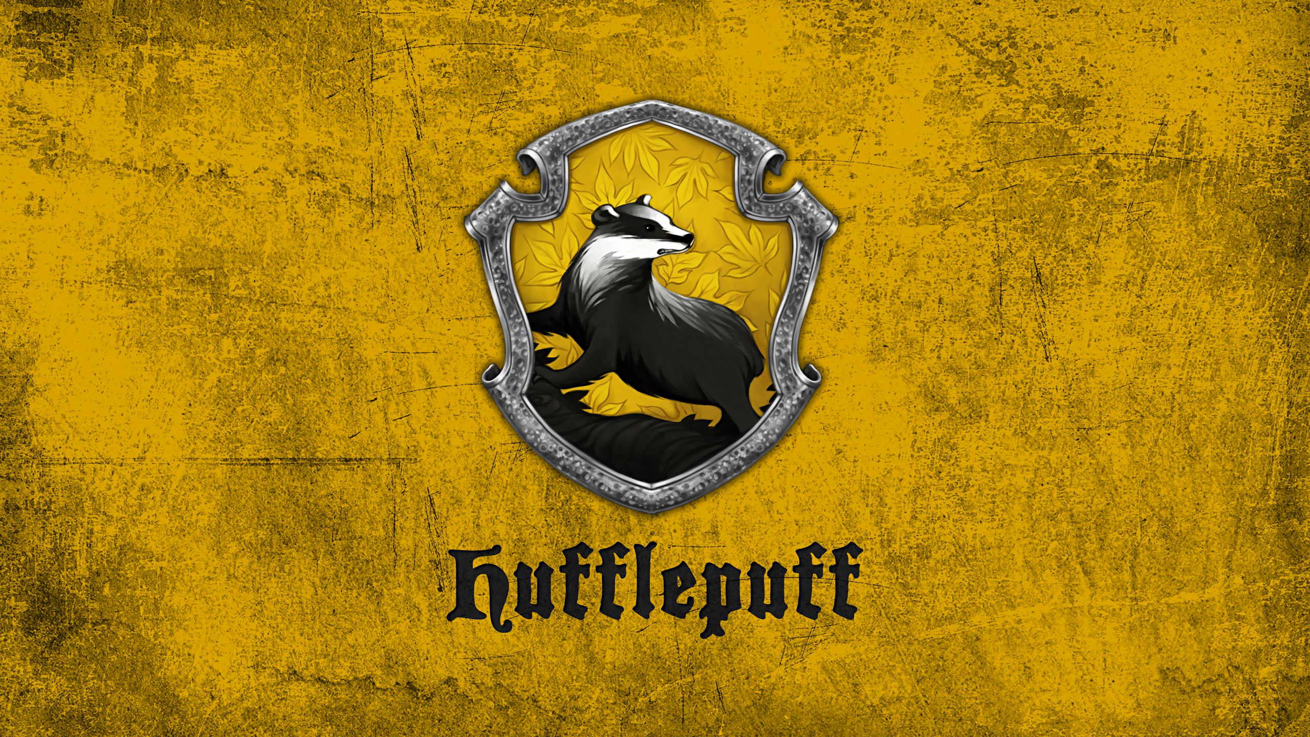 Fondos de pantalla Insignia Hufflepuff de Harry Potter