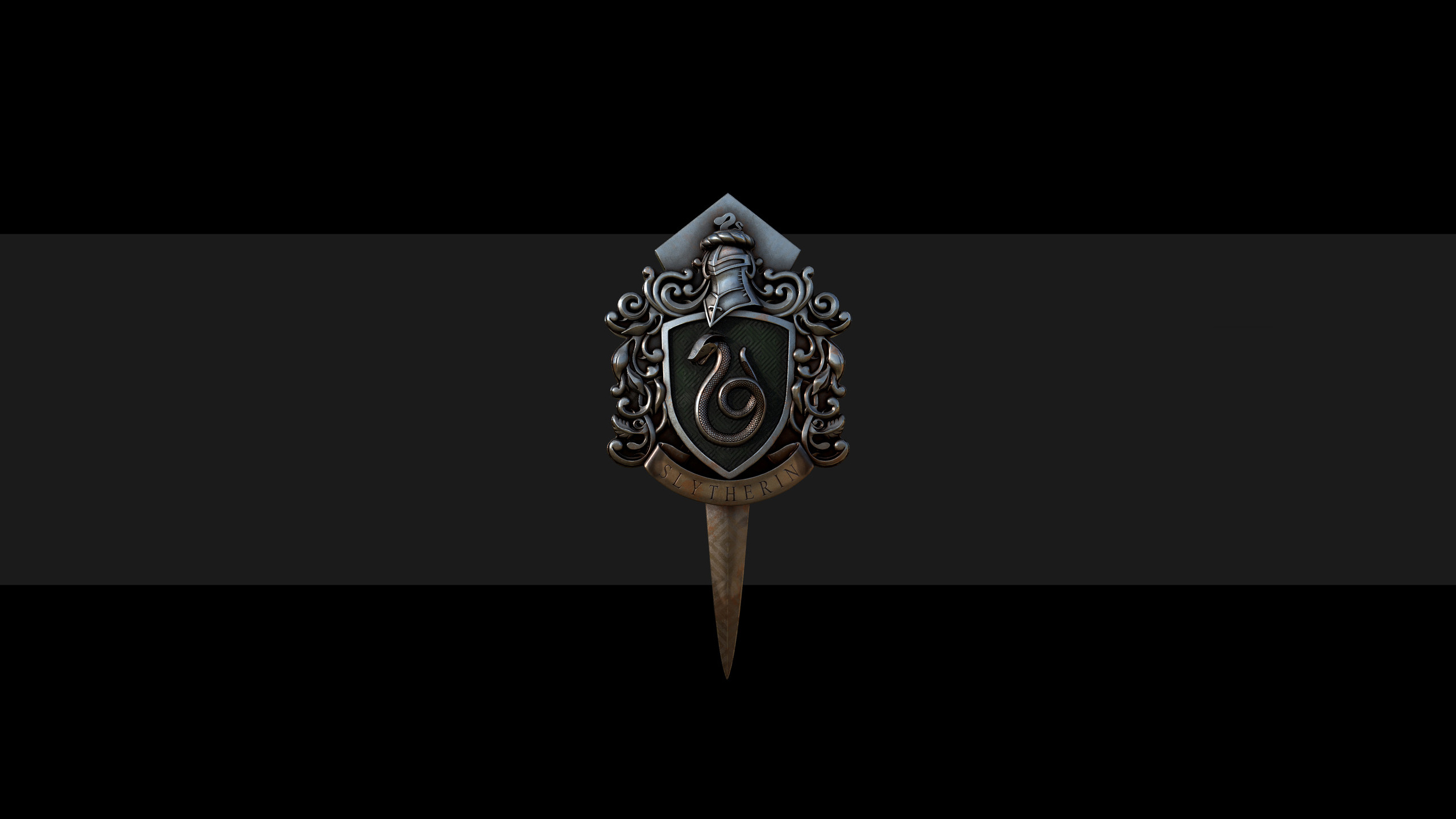 Wallpaper Slytherin Badge Harry Potter