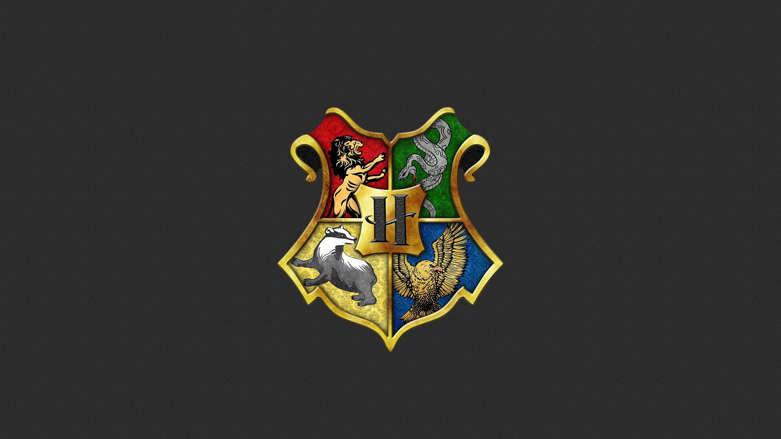 Fondos de pantalla Insignias de Harry Potter: Gryffindor, Slytherin, Hufflepuff y Ravenclaw