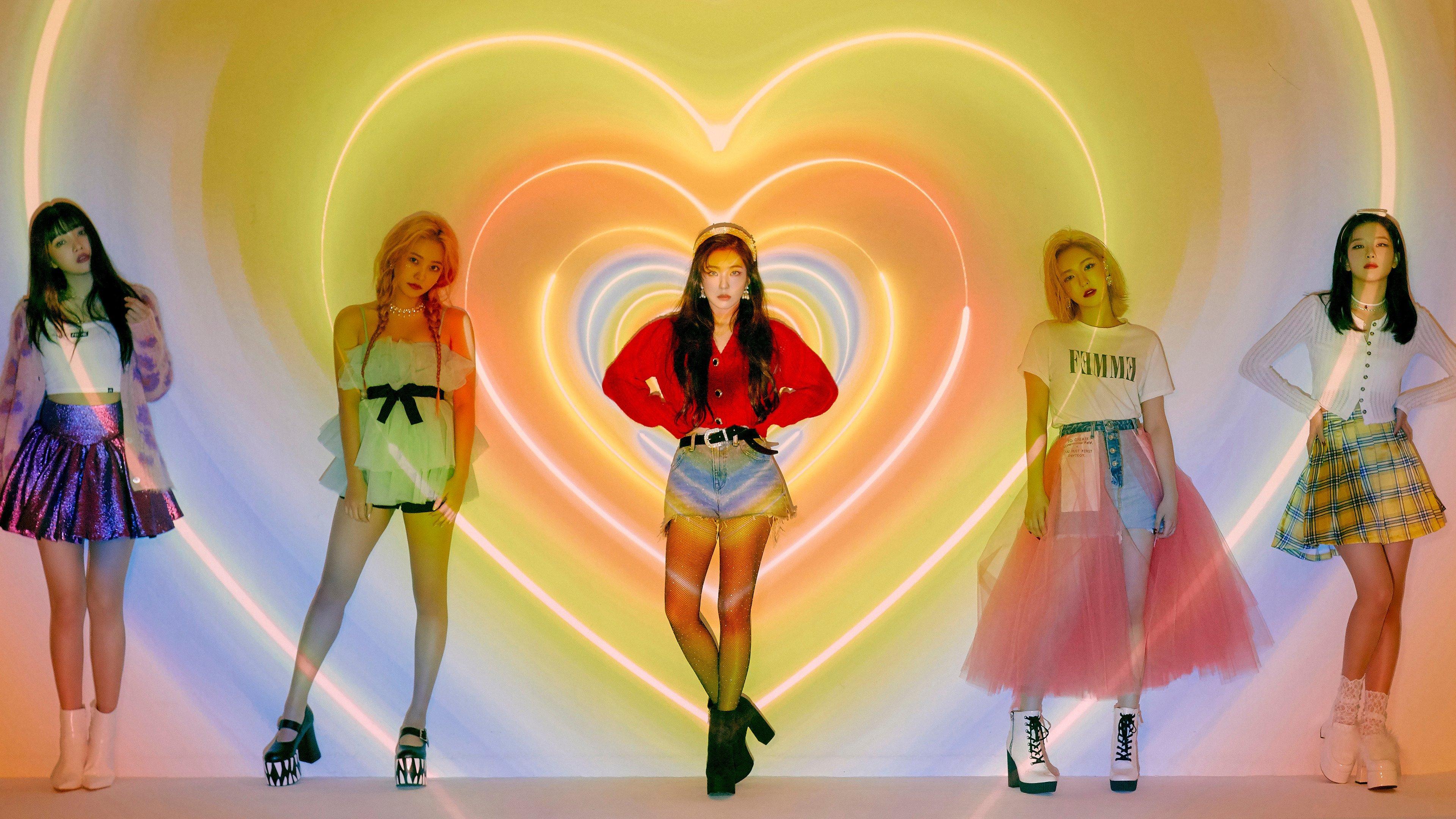 Wallpaper Members of Red Velvet