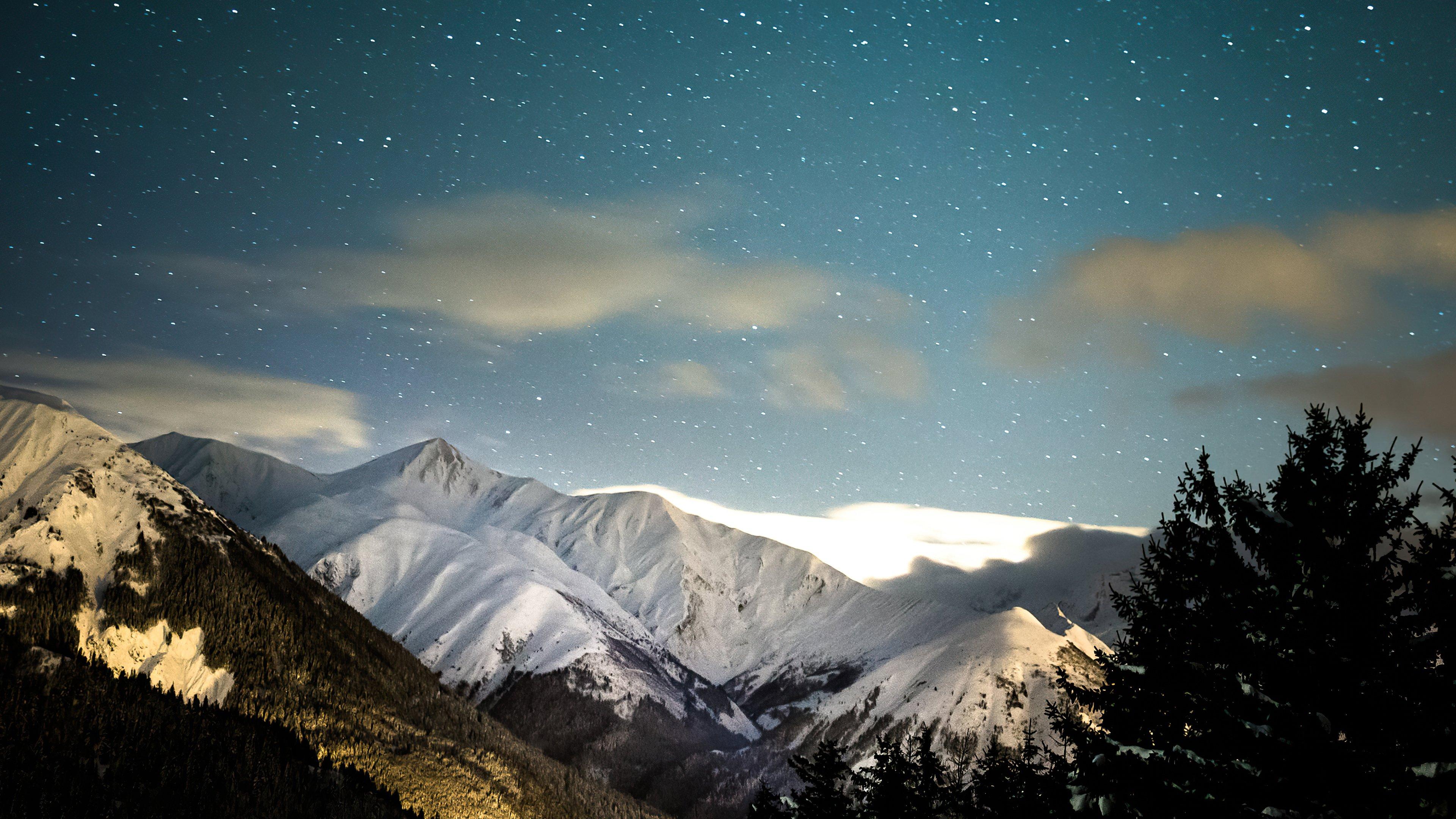 Fondos de pantalla Invierno en las montañas