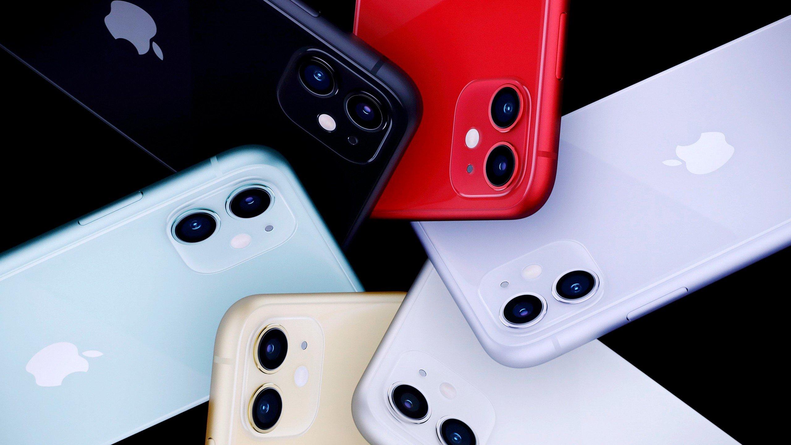 Fondos de pantalla iPhone 11 en todos los colores