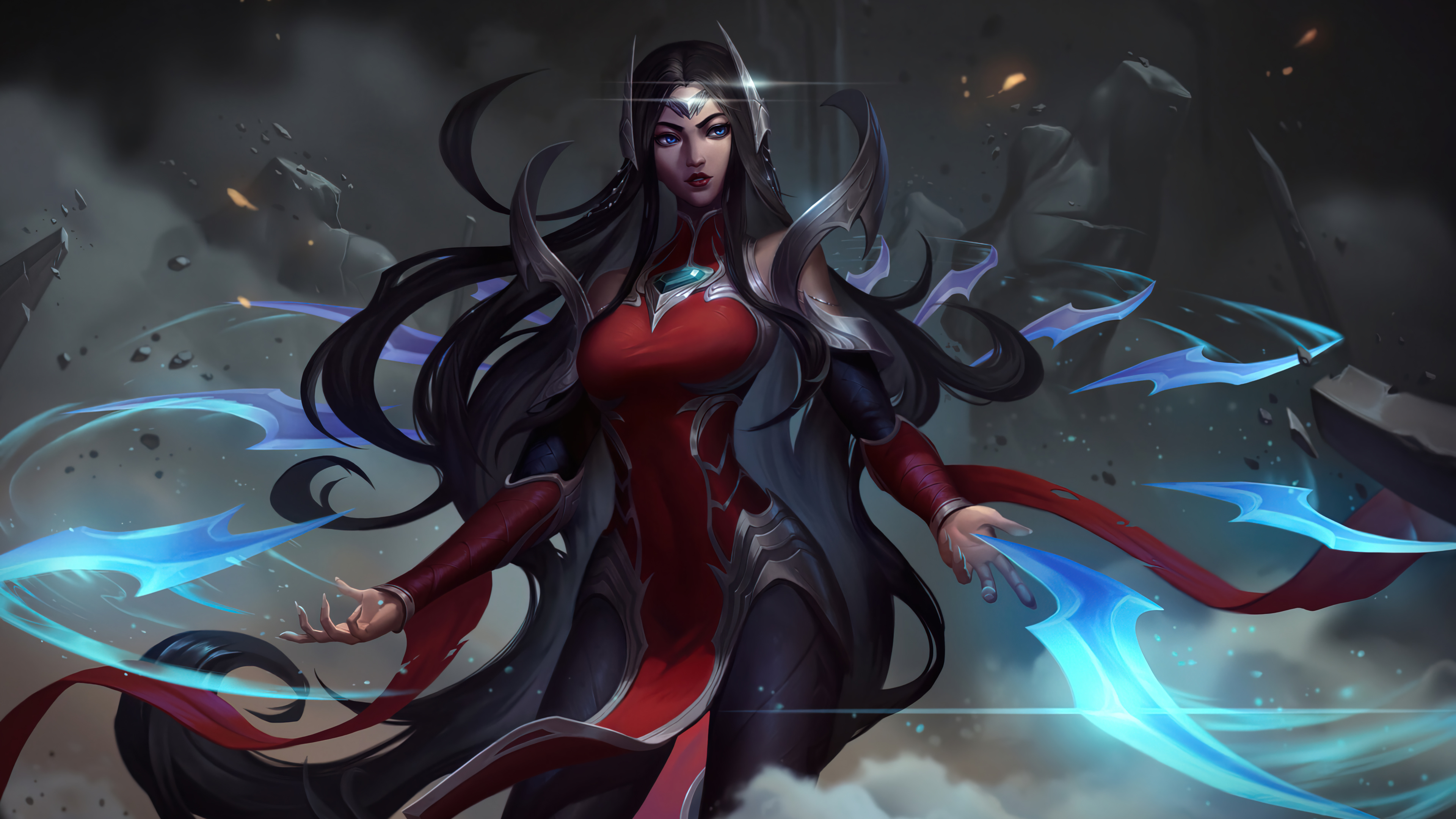 Fondos de pantalla Irelia League of Legends Art