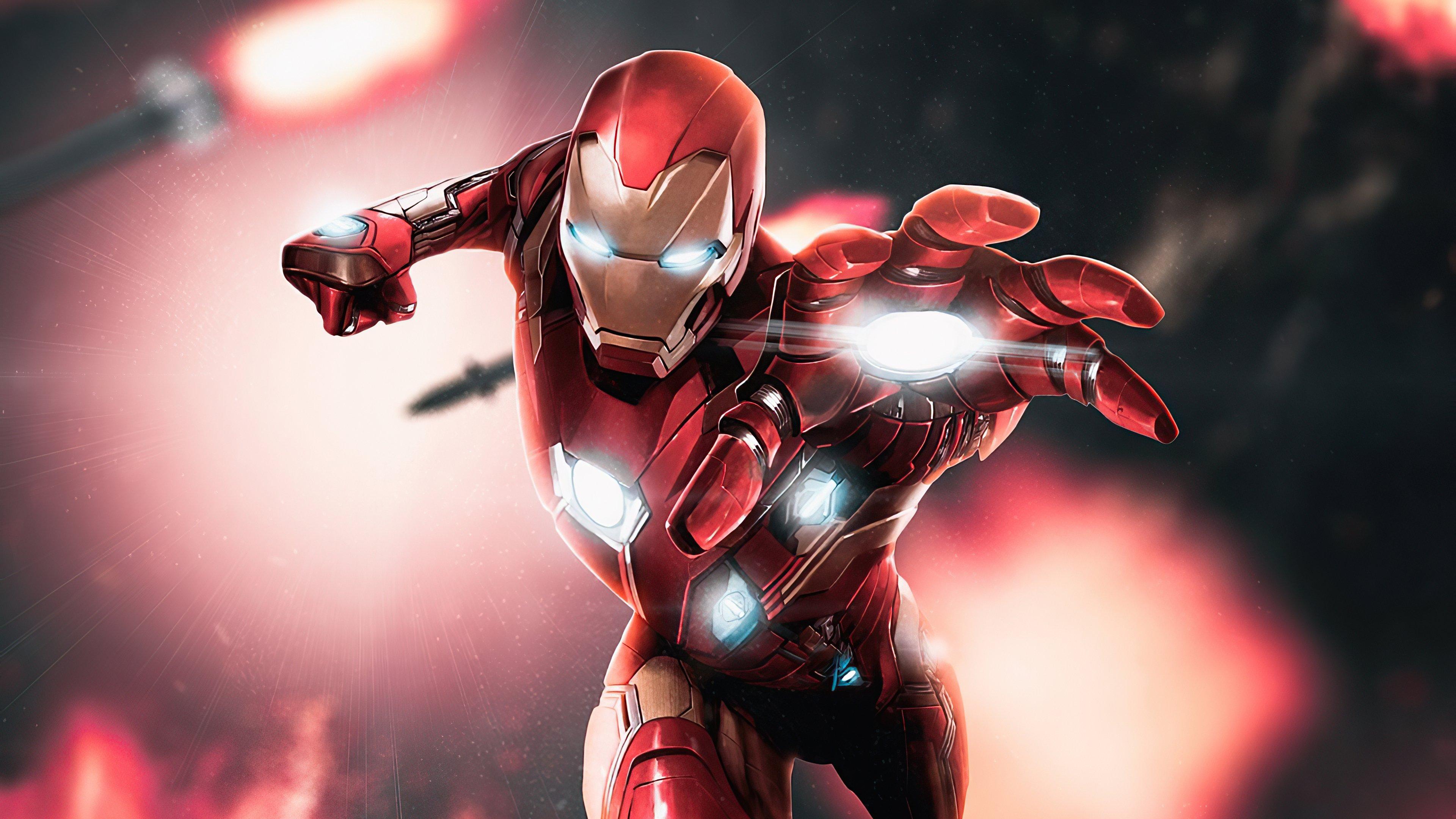 Wallpaper Iron Man 2020 Art