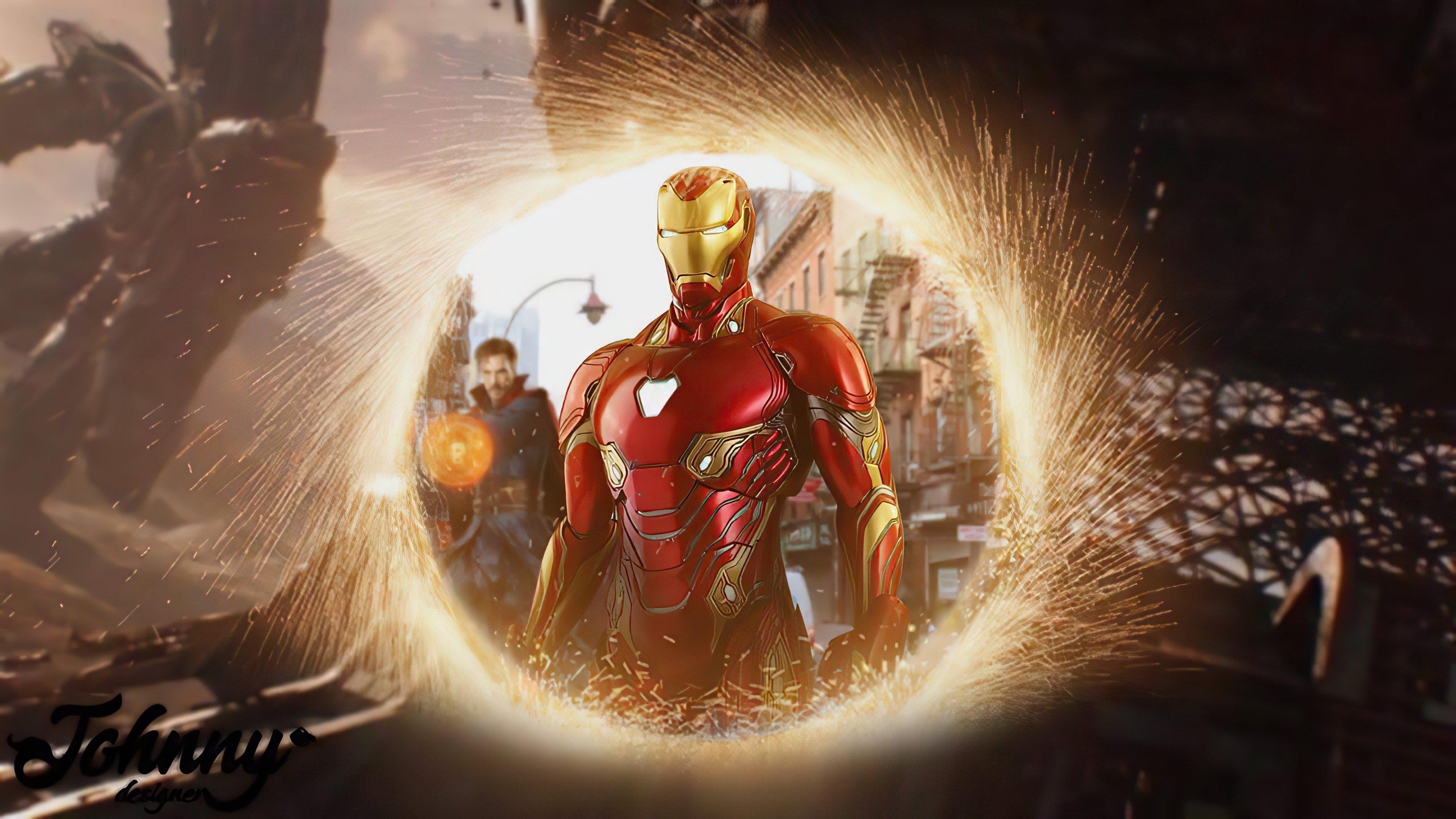 Fondos de pantalla Iron Man con Doctor Strange